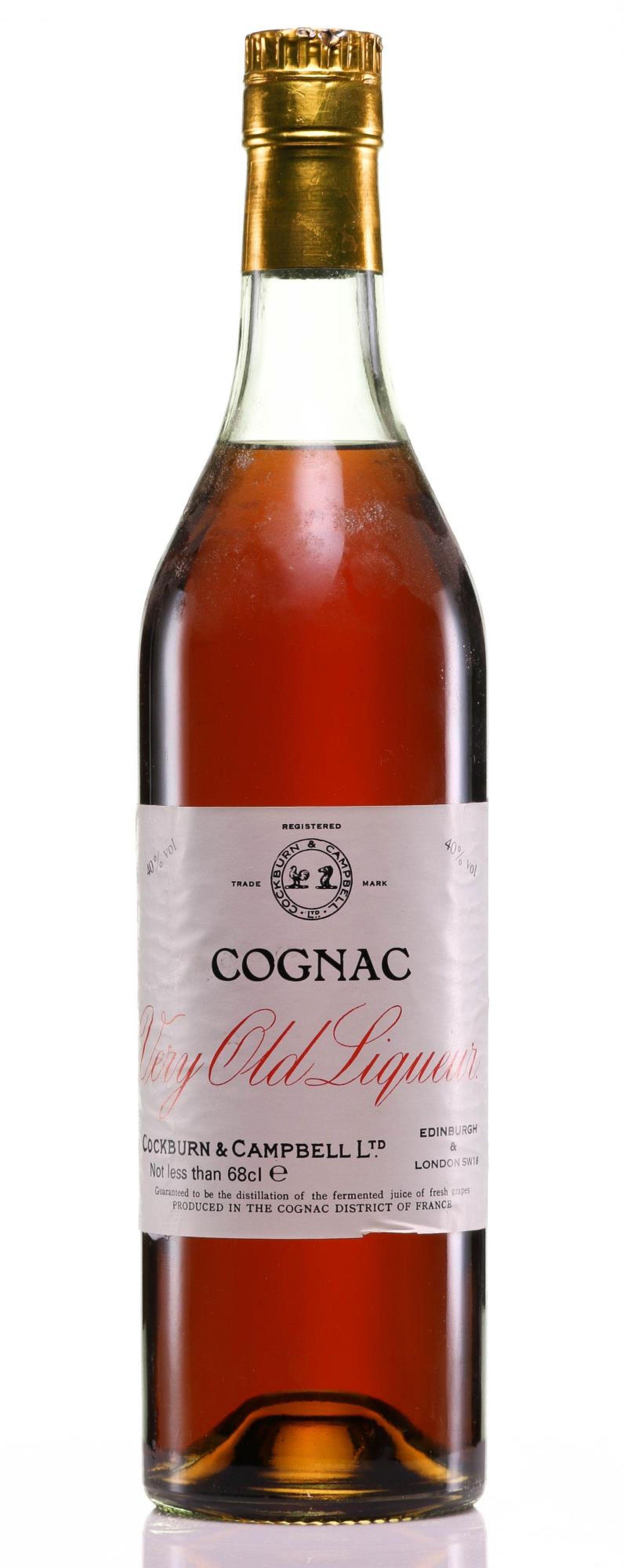 Cognac 1930s Cockburn & Campbell Very Old Liqueur