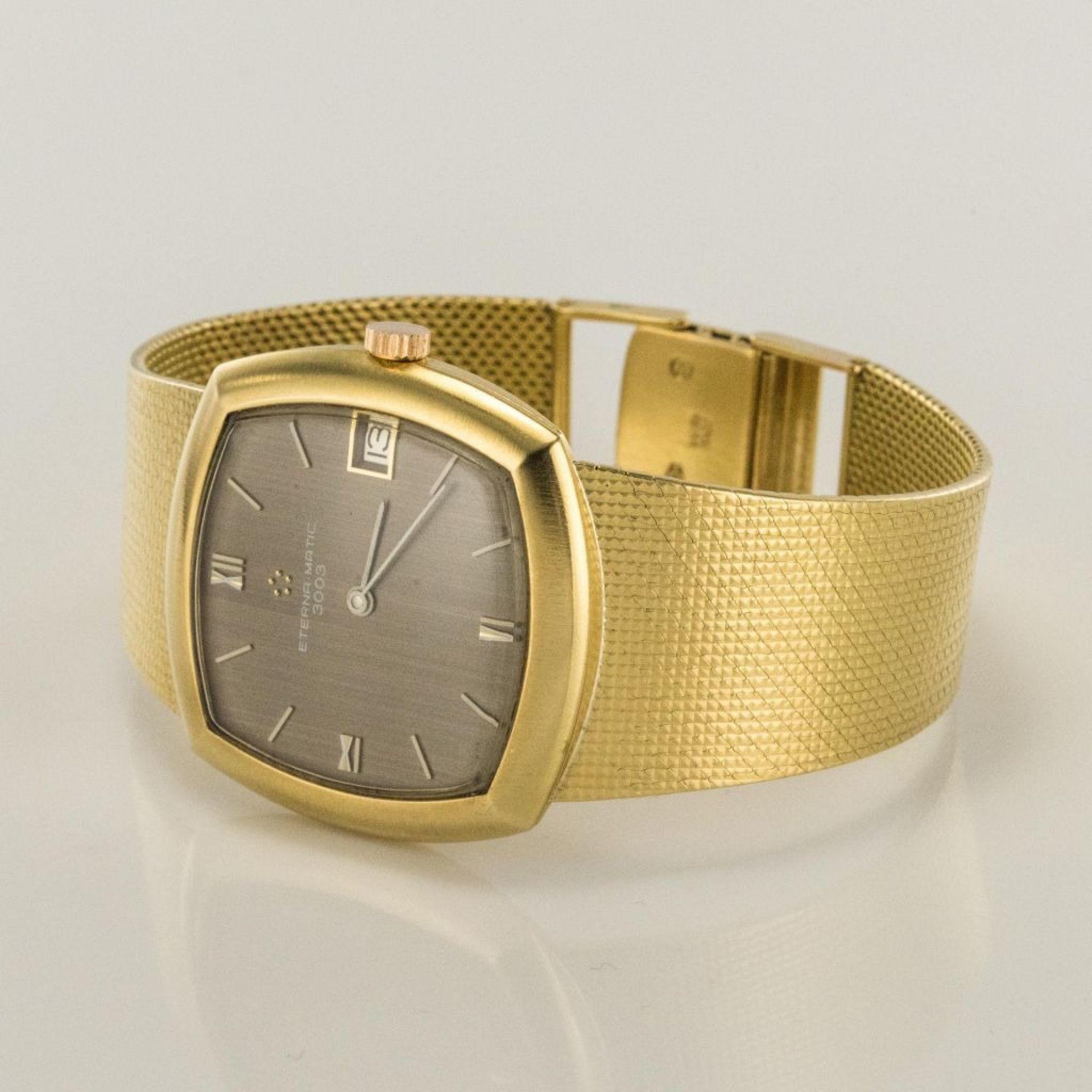 Eterna Matic 3000 Gold Watch