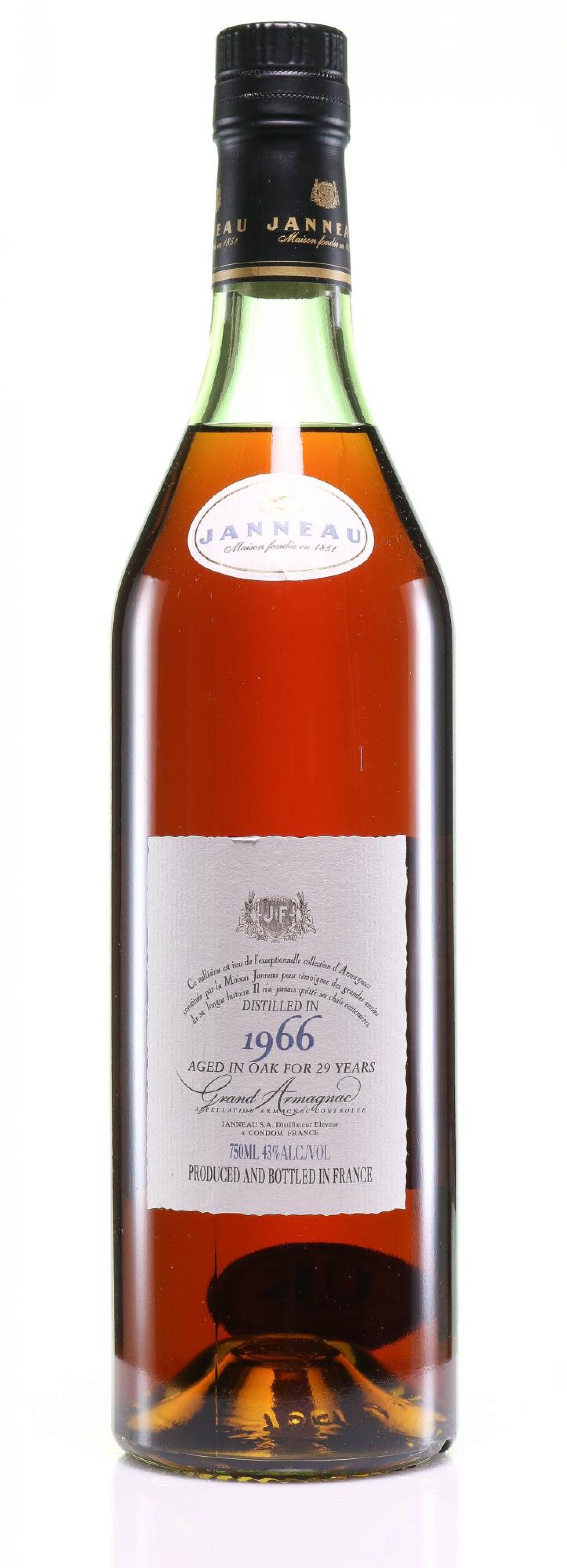 Armagnac 1966 Janneau Fils et Cie