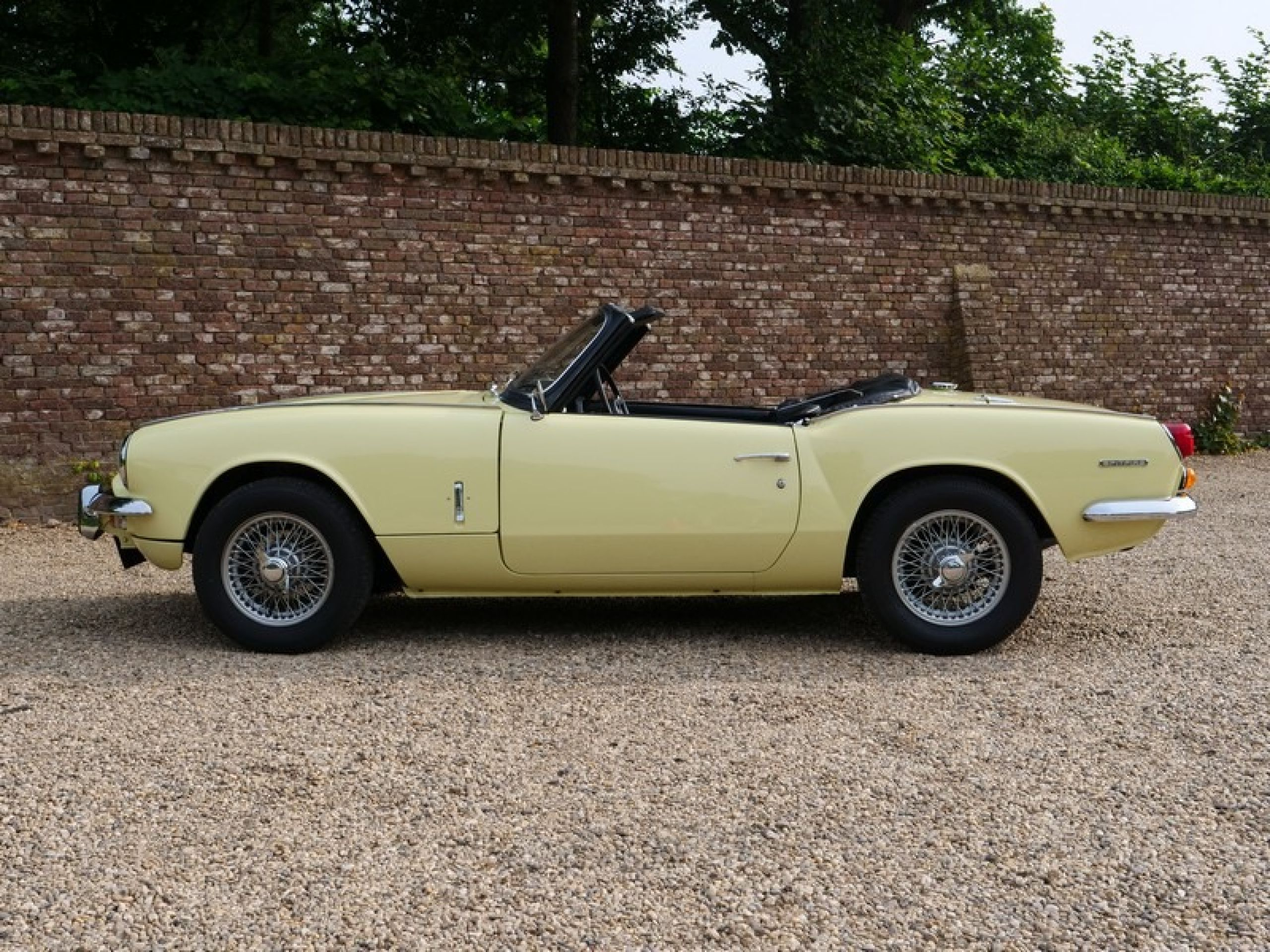 TRIUMPH SPITFIRE MK3 ORIGINAL CONDITION! 2ND OWNER CAR, ONLY 66.290 KMS (1970)
