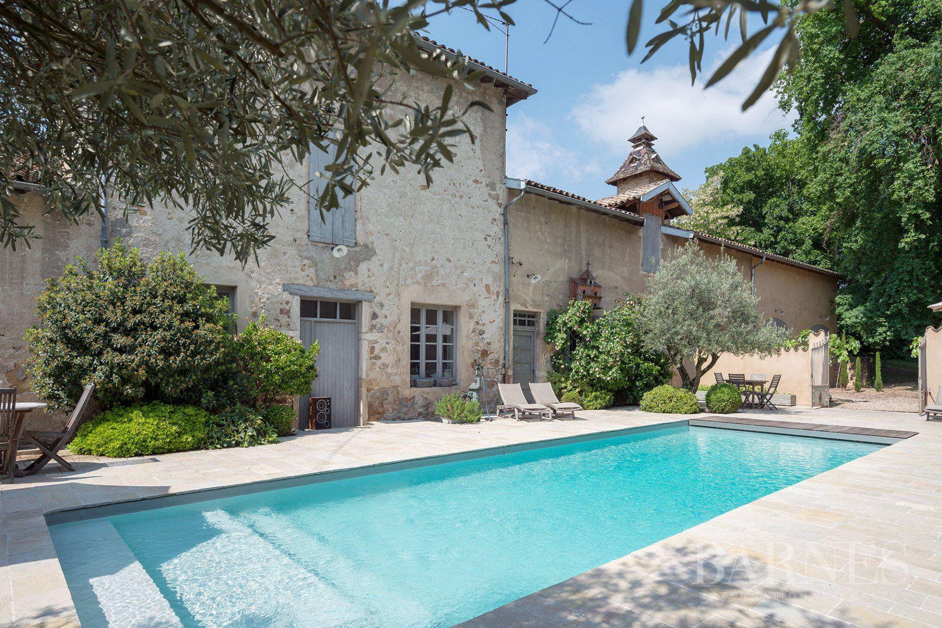 Regnié-Durette - Beaujolais - Castle of 556 sqm - Land of 1.8 hectare - 8 bedrooms