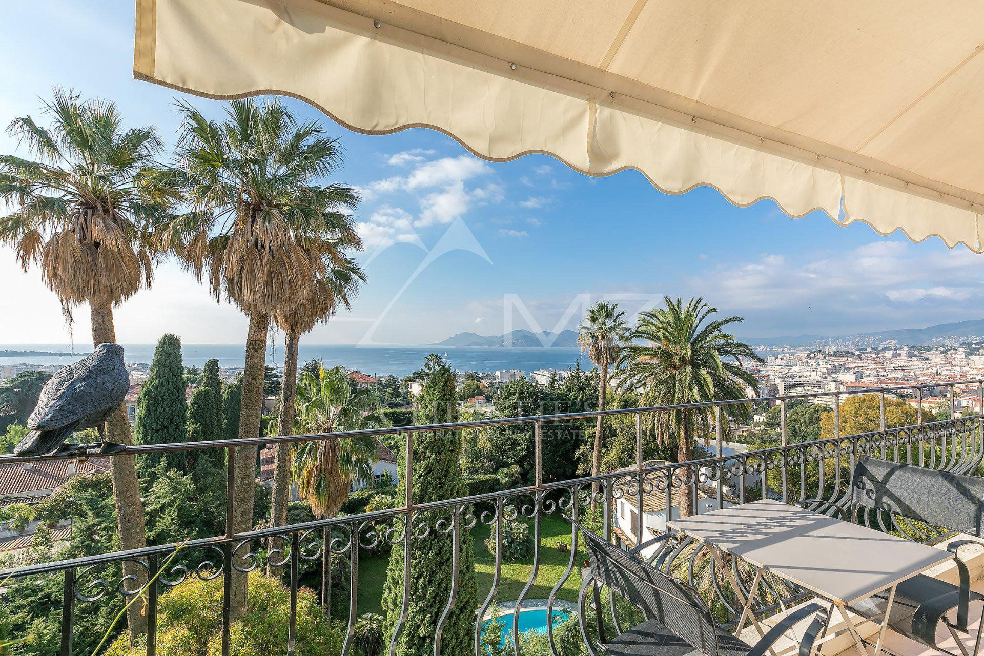 Cannes - Californie - Beautiful apartment with magnificent sea view