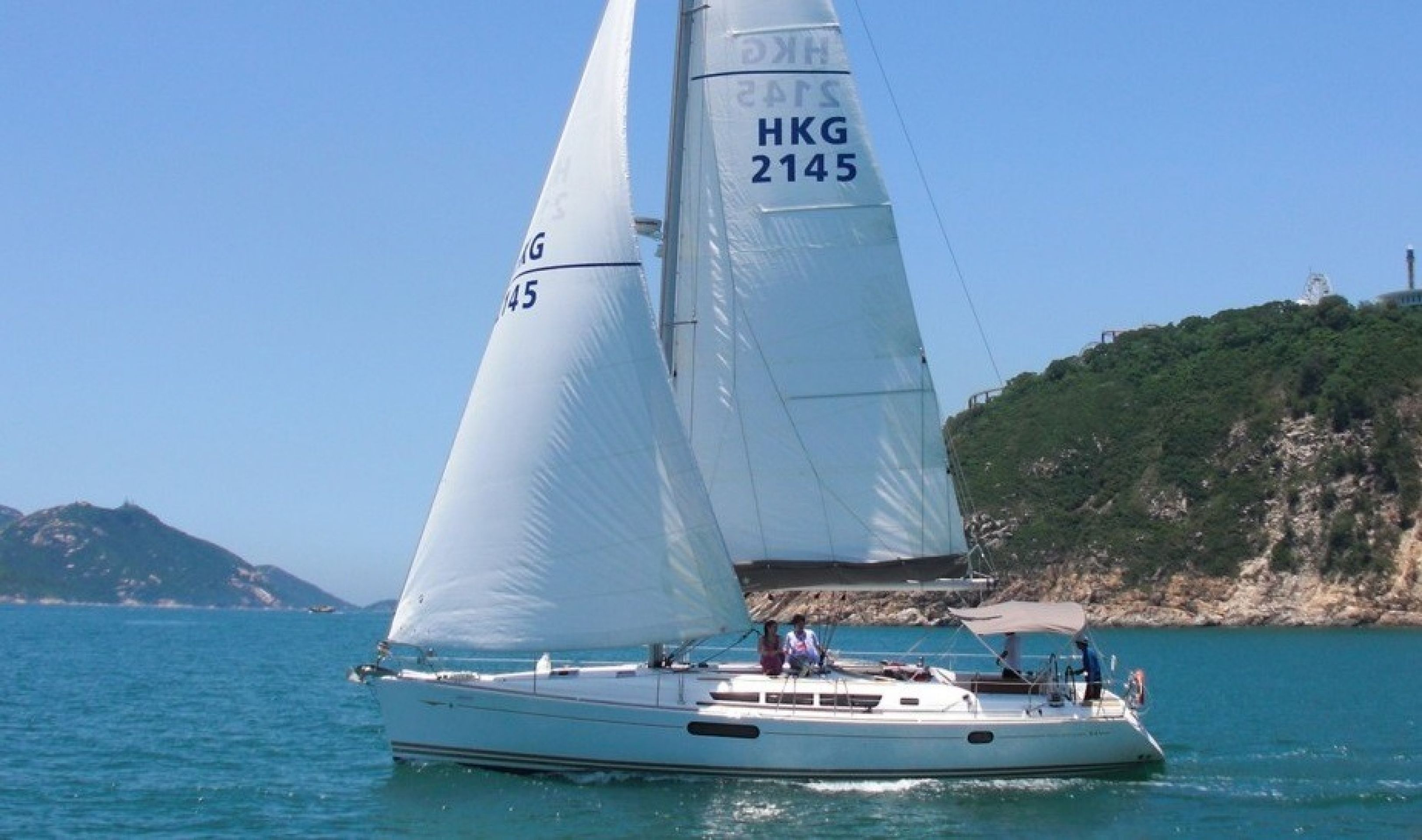 Hong Kong Yacht Charter - HKY20