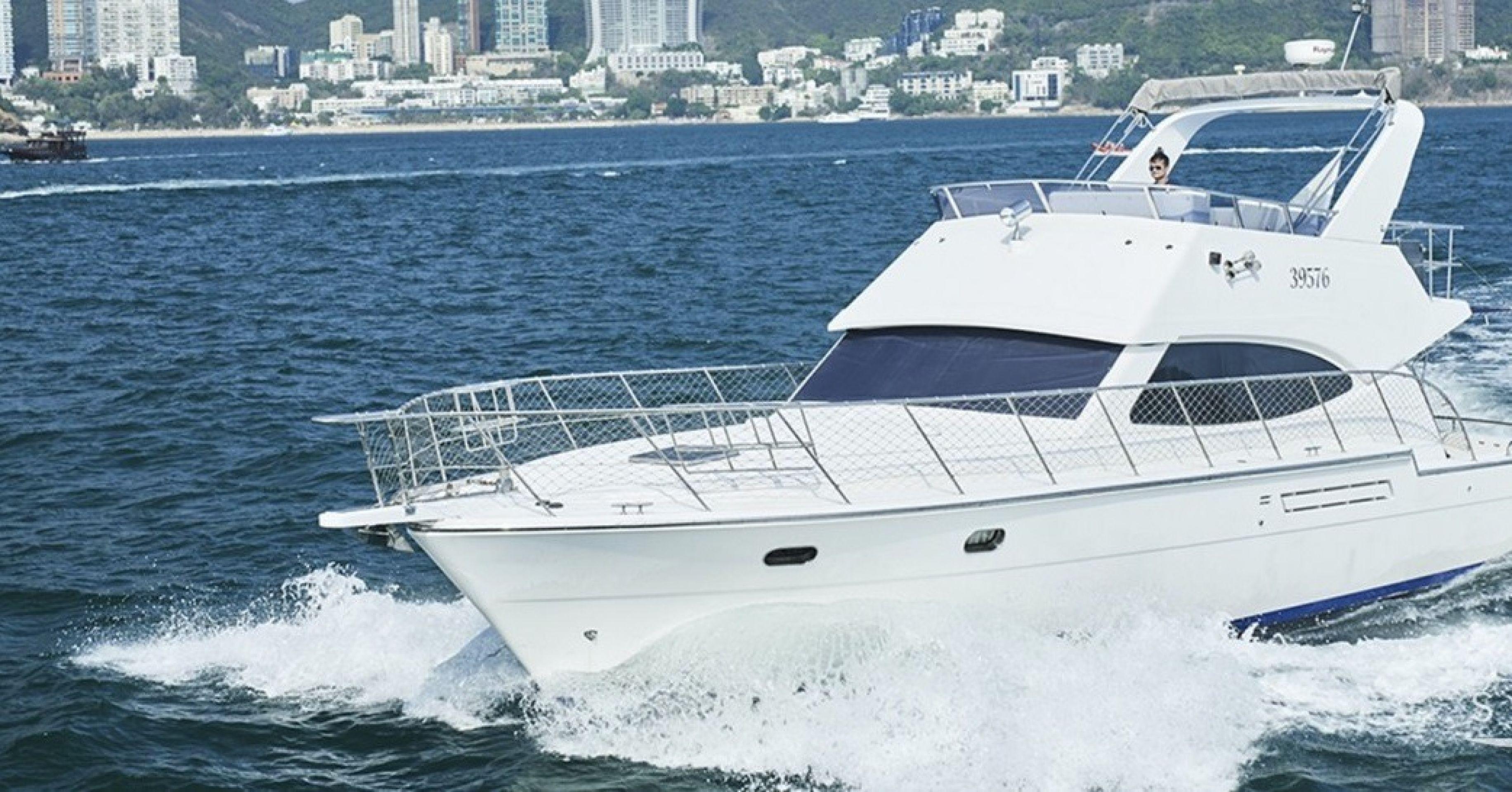 Hong Kong Yacht Charter - HKY24