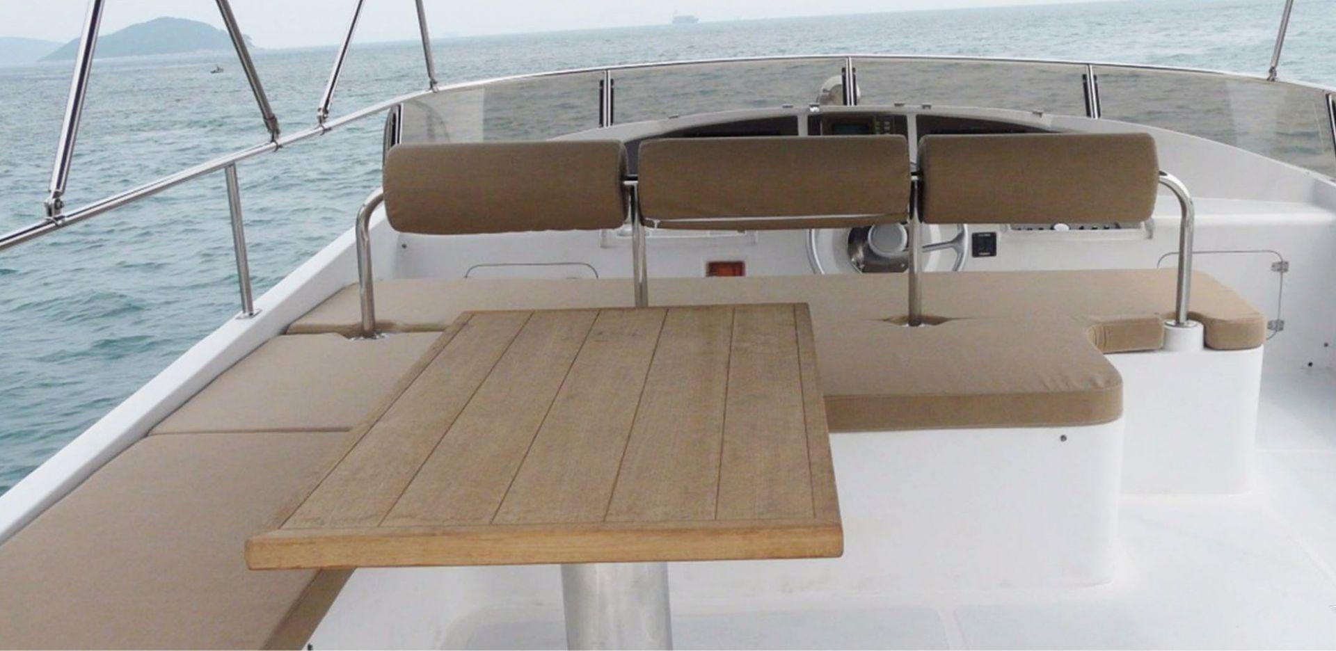 Hong Kong Yacht Charter - HKY32
