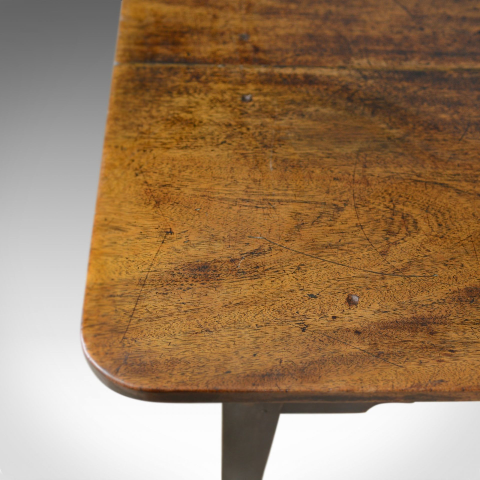 French Antique Patisserie Table, Mahogany, Country Kitchen Dining Circa 1800