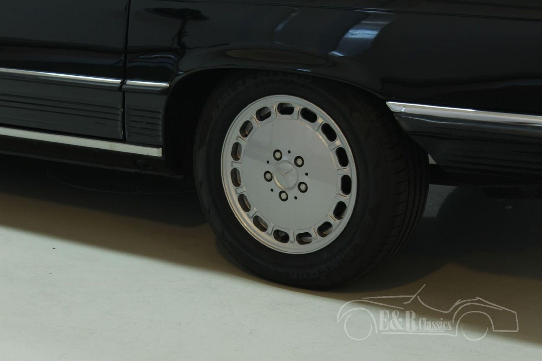 MERCEDES BENZ 300SL CABRIOLET 1987