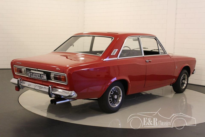 FORD TAUNUS 20M P7A 1968 V6