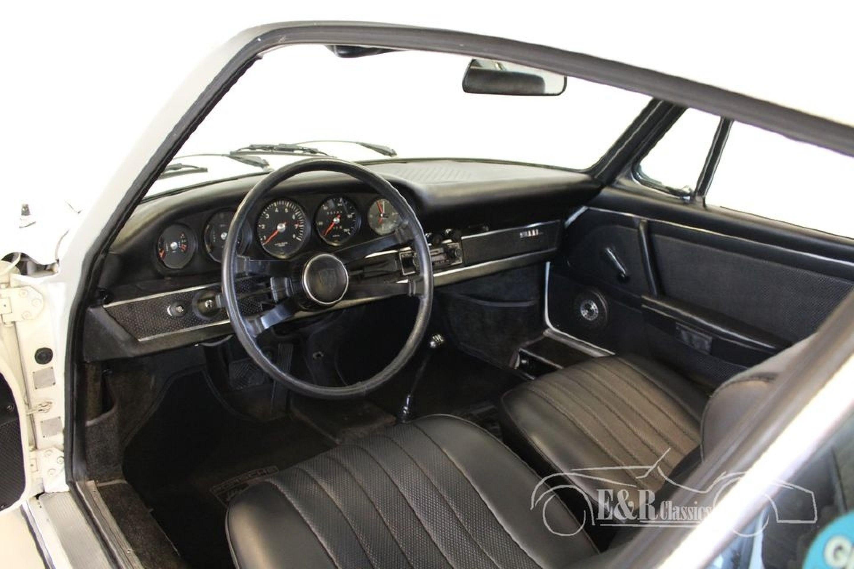 PORSCHE 911 L COUPE WHITE 1968