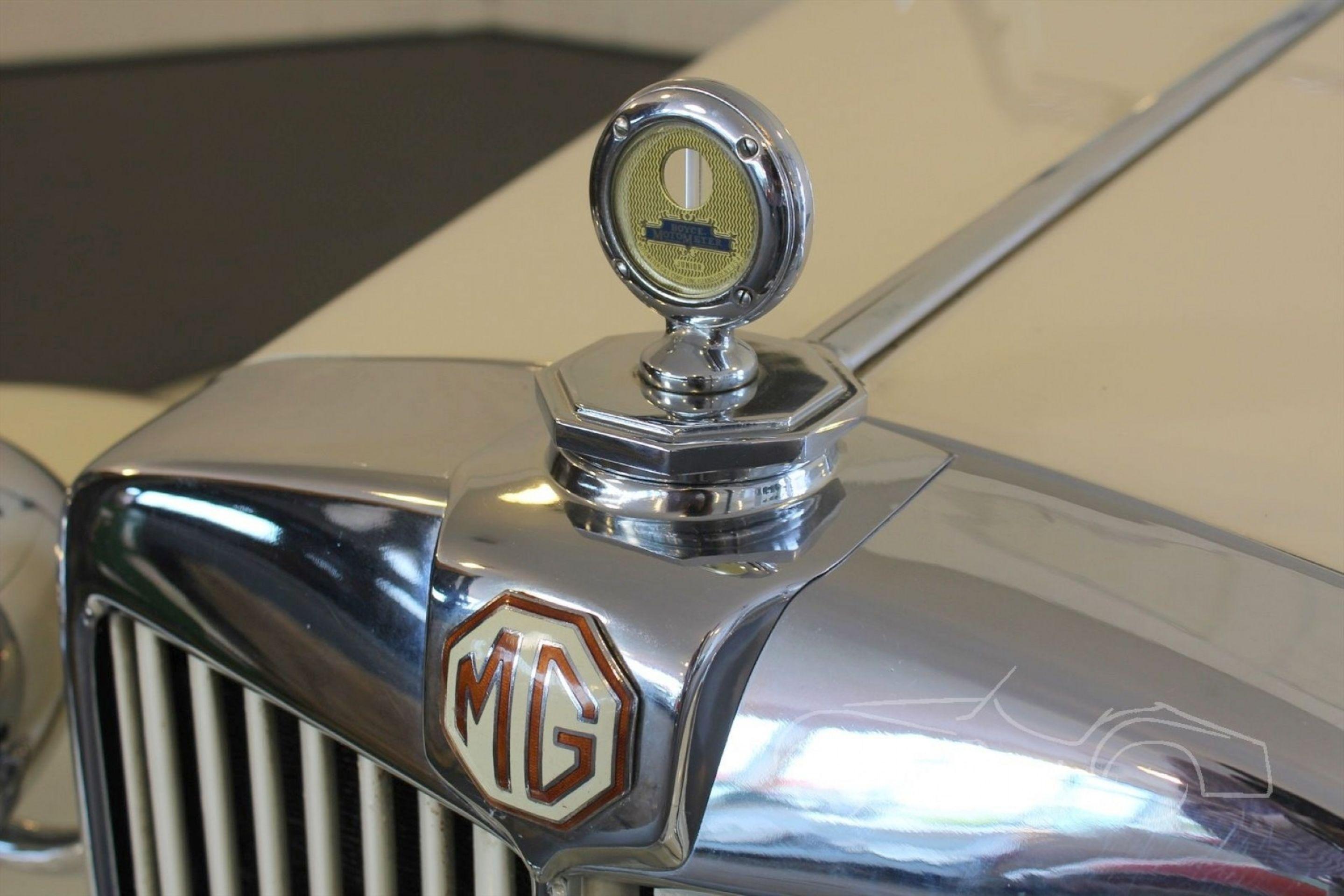 MG TD CABRIOLET 1952
