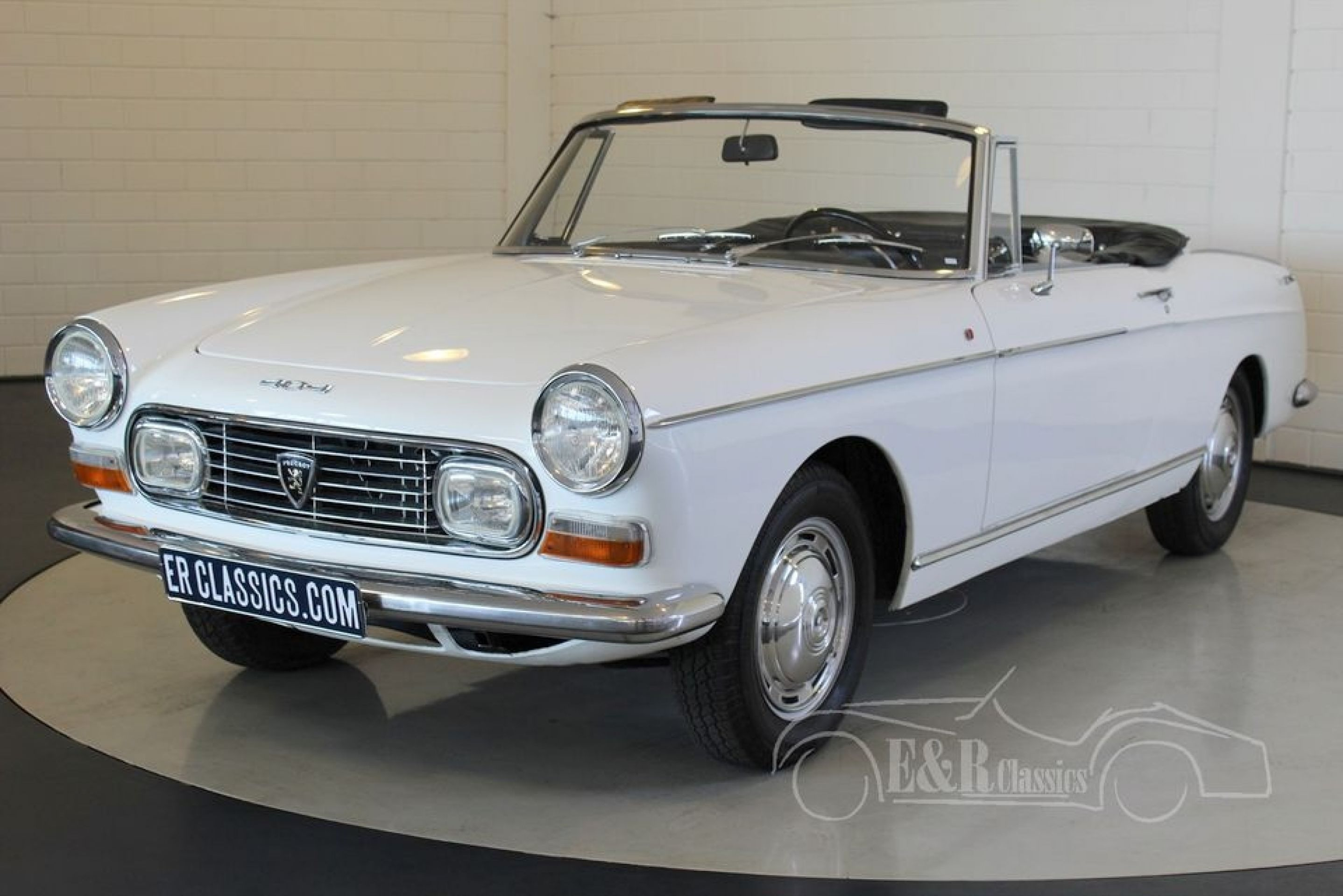 PEUGEOT 404 INJECTION CABRIOLET 1968