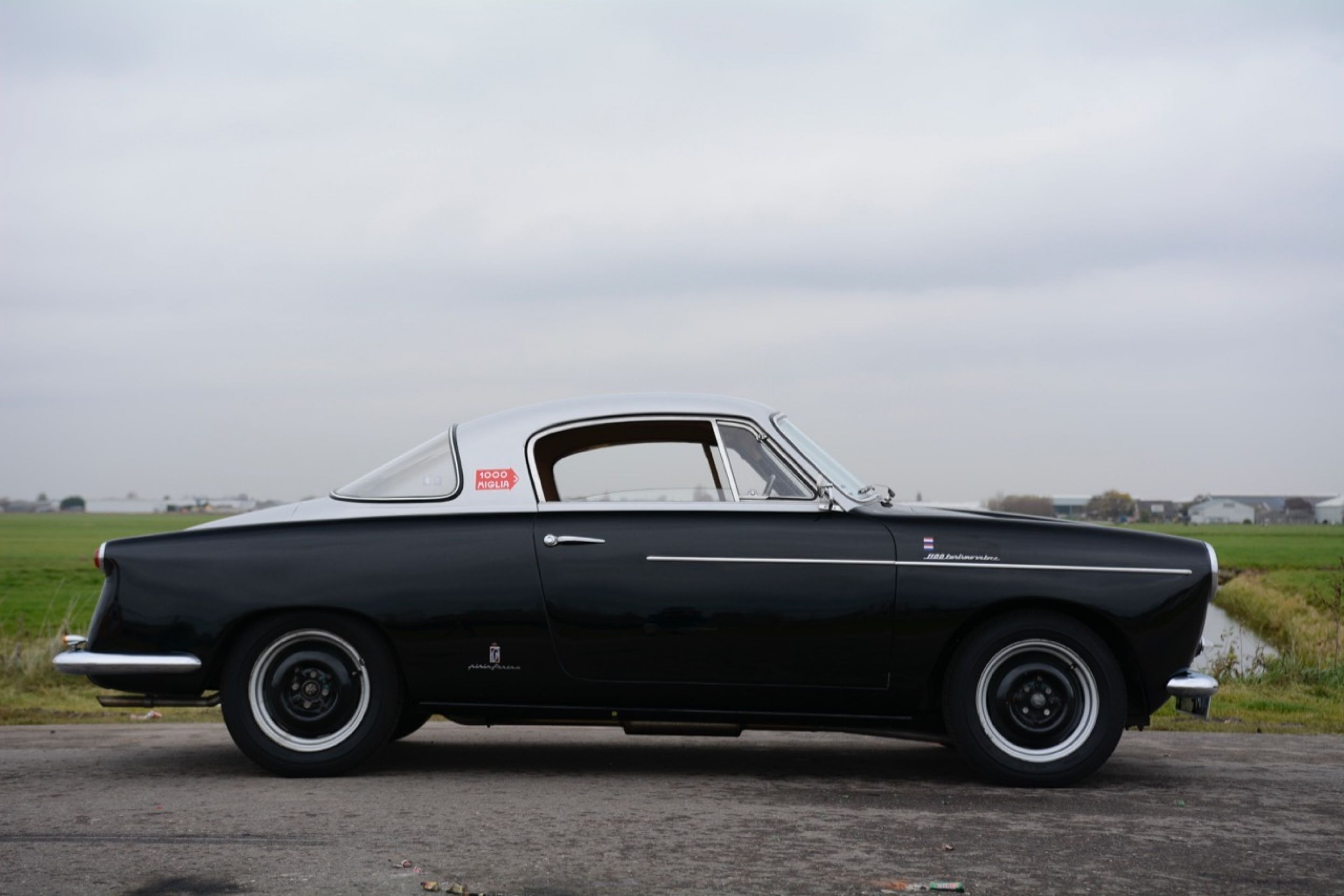 Fiat 1100 Turismo Veloce Coupé Pininfarina 1956