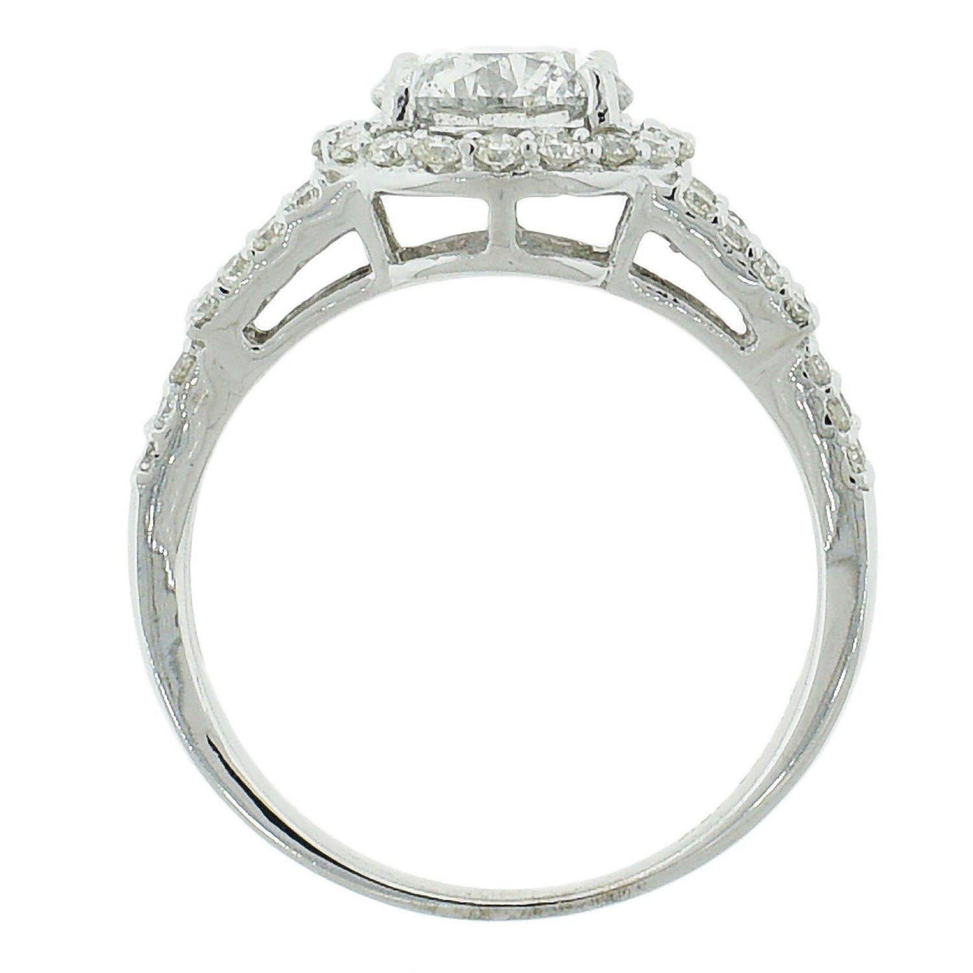 1.49ct E COLOR CENTER Diamond Ring (2.16ctw Diamonds) EGL USA CERTIFIED