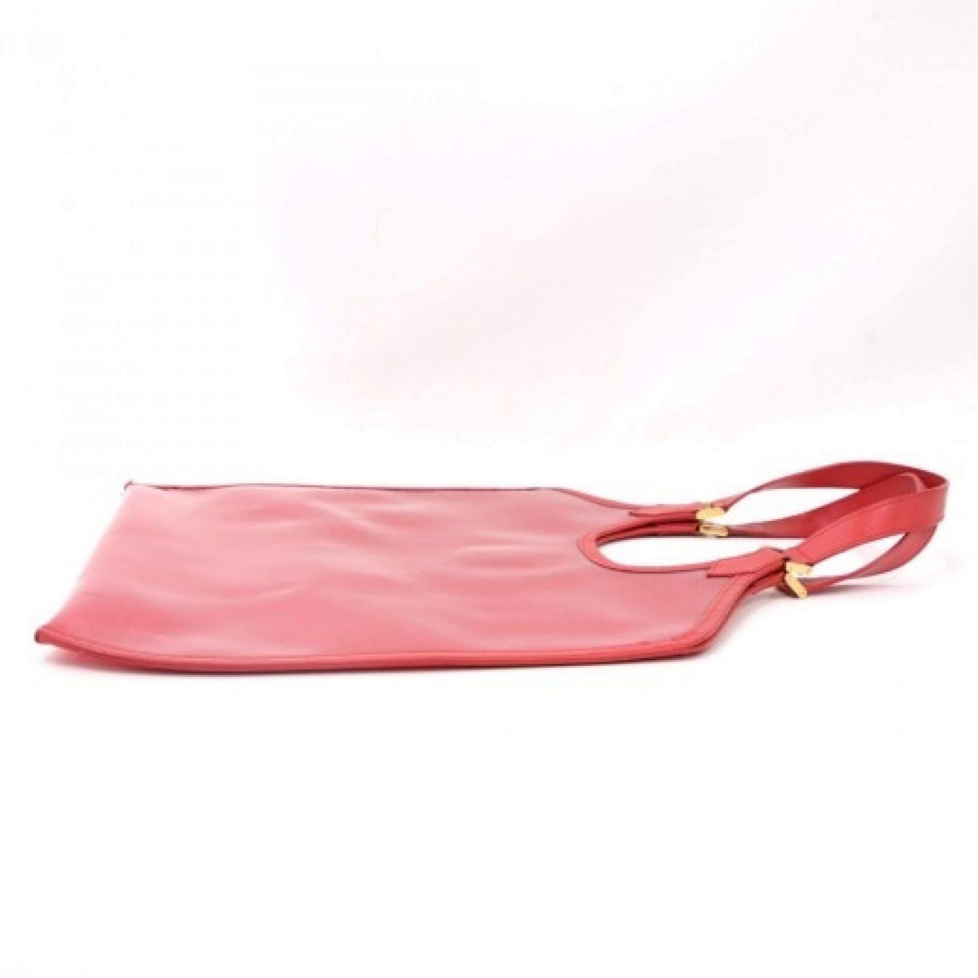 Louis Vuitton Plage Lagoon GM Red Vinyl Beach Bag + Pouch