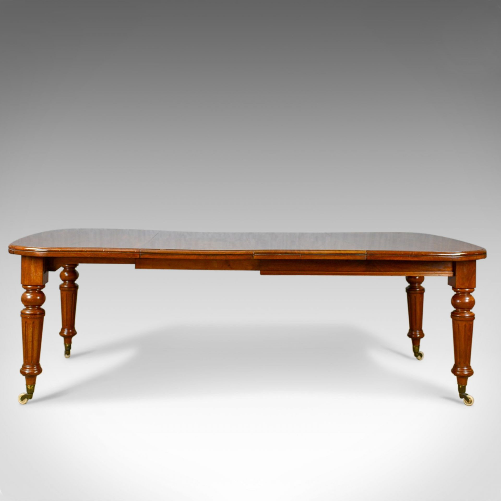 Antique Dining Table, English, Mahogany, Victorian, Extending, Seats 10, c.1860