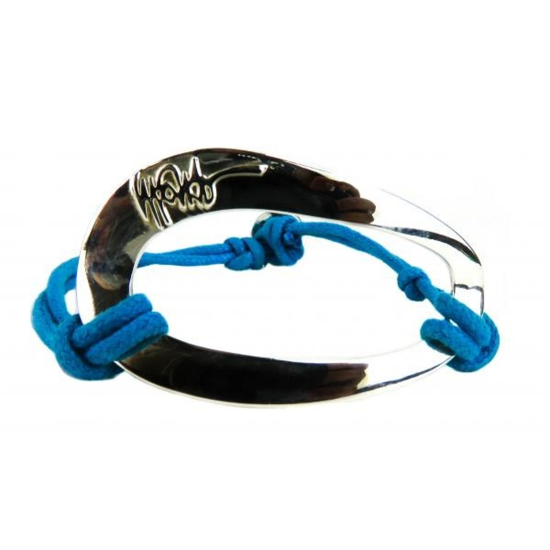 Ippolita Sterling Silver Blue Cord Bracelet