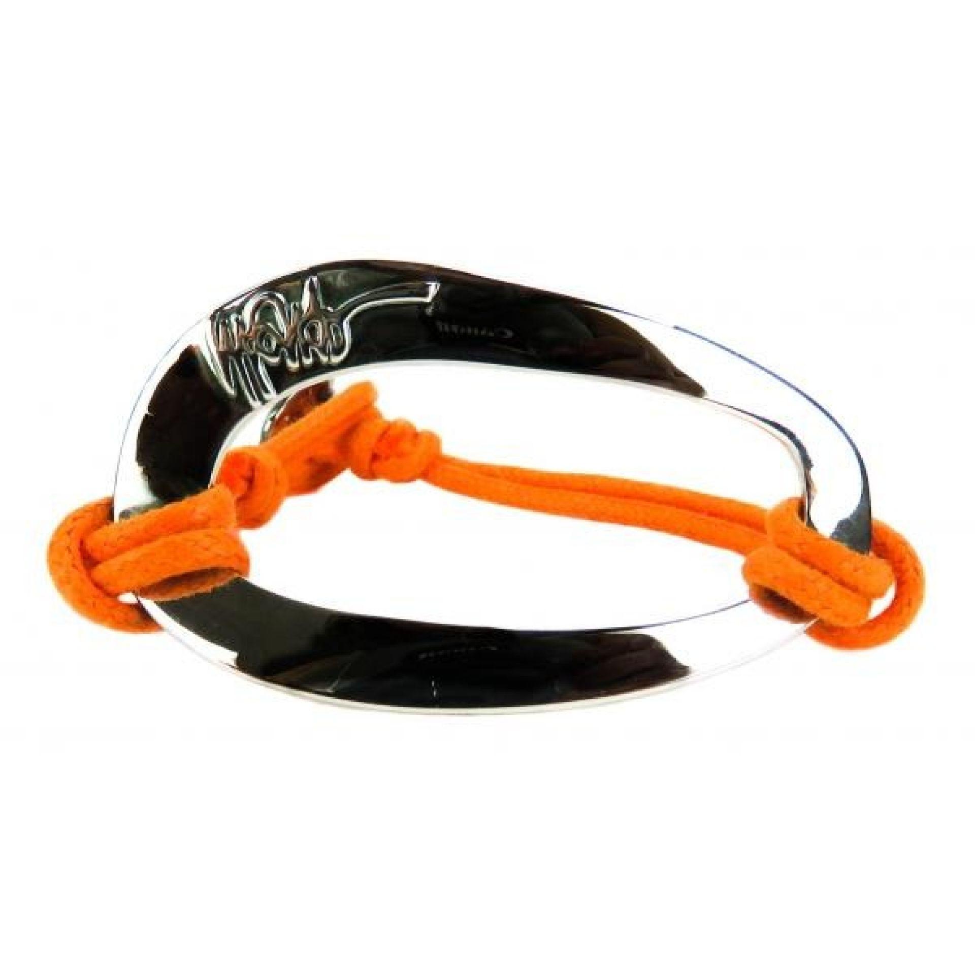 Ippolita Sterling Silver Orange Cord Bracelet