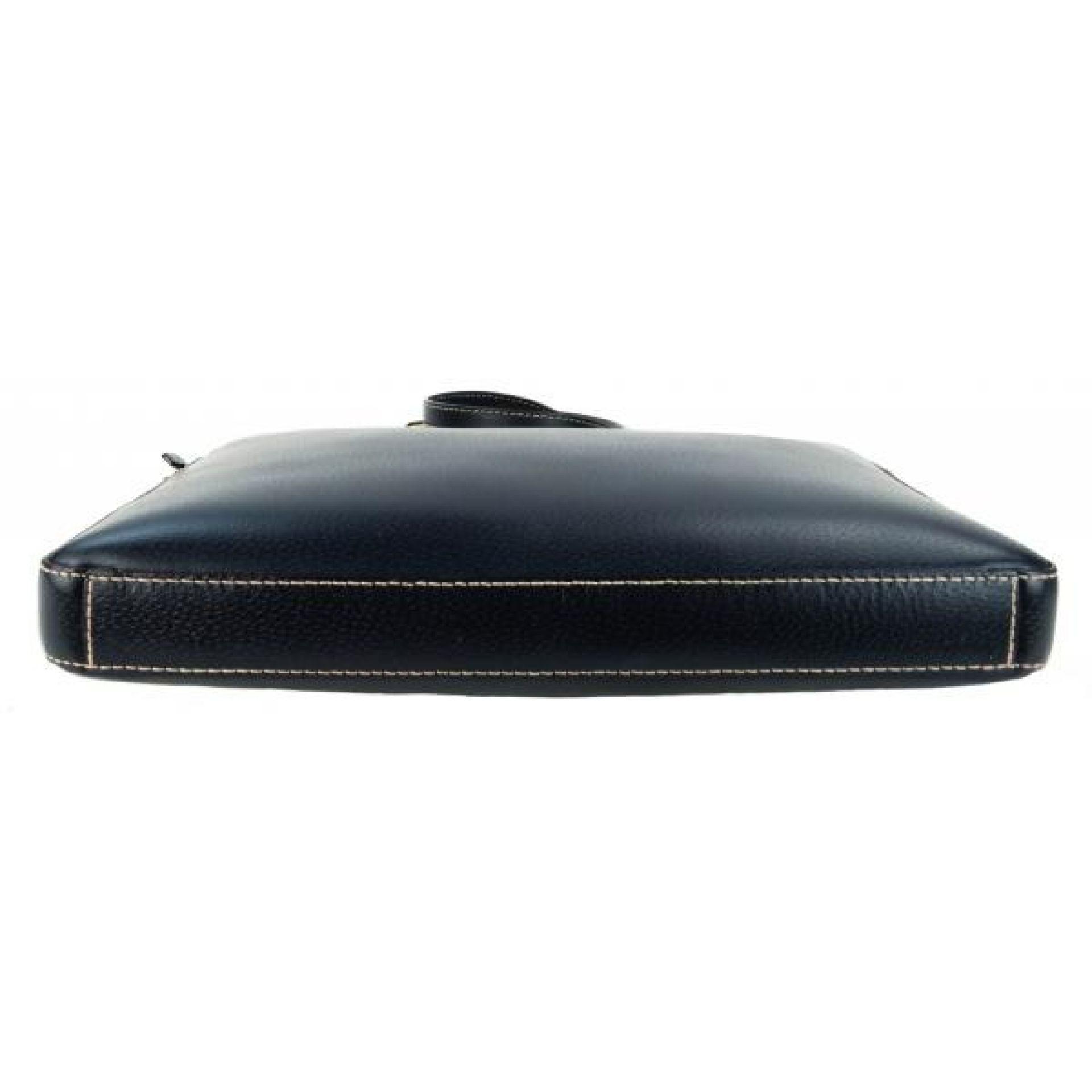 Kate Spade Navy Blue Leather Wellesley Tanner Laptop Bag