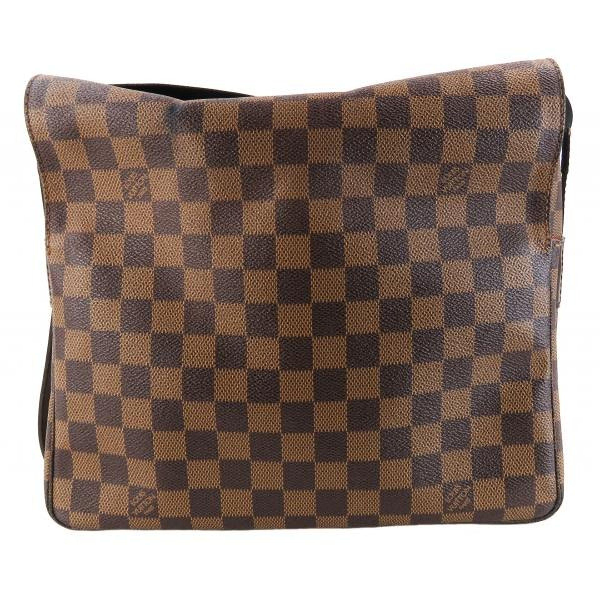 Louis Vuitton Brown Ebene Damier Canvas Naviglio Crossbody Messenger Bag