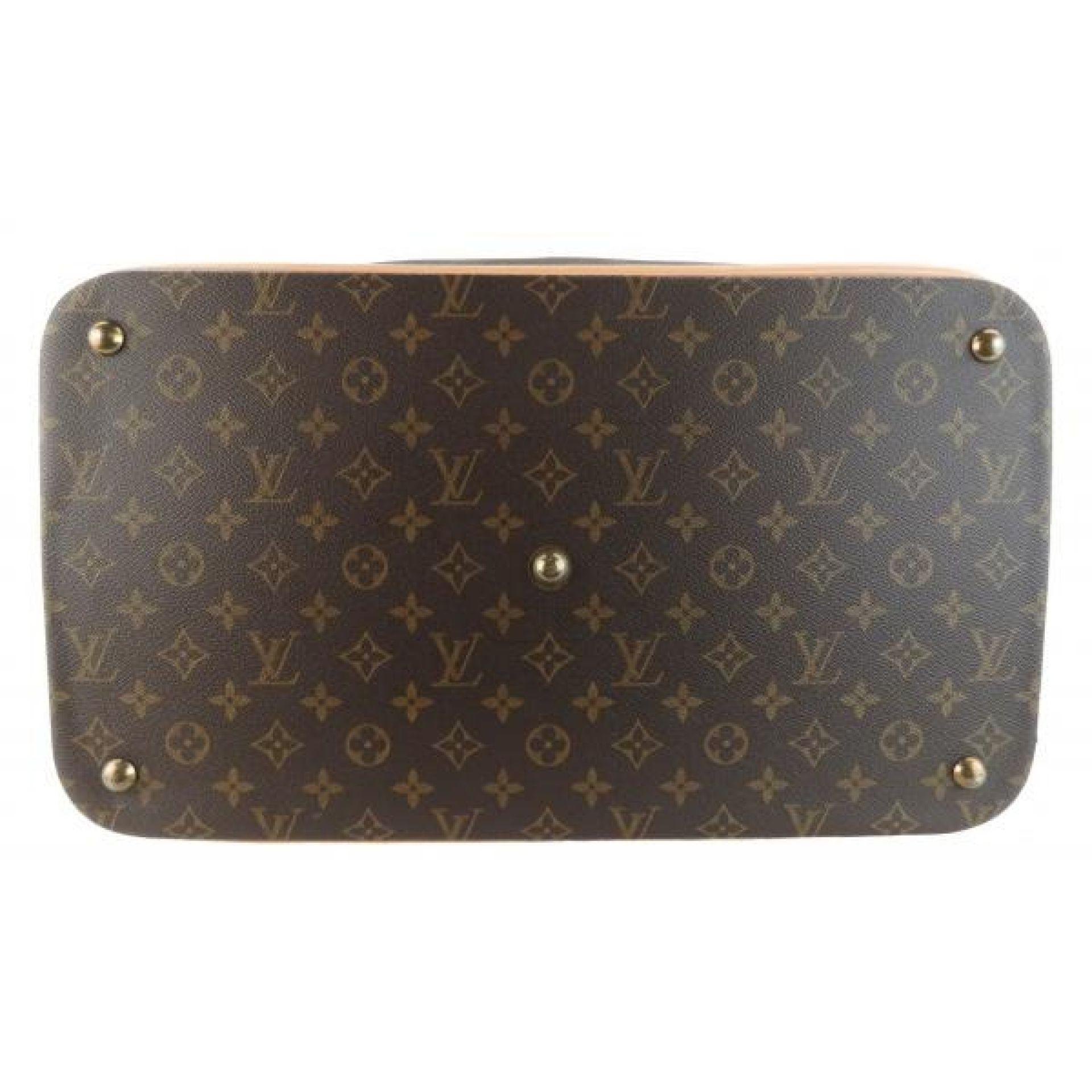 Louis Vuitton Brown Monogram Canvas Cruiser 45 Luggage Bag