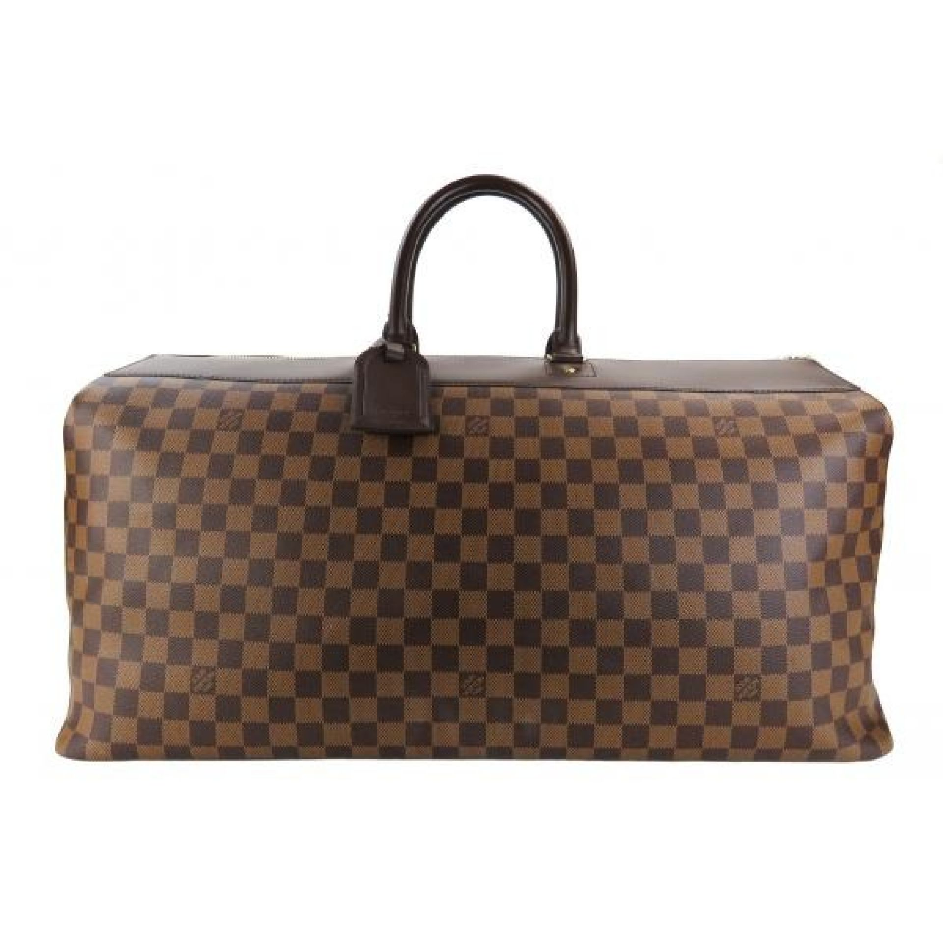 Louis Vuitton Ebene Damier Canvas Greenwich GM Duffle Bag