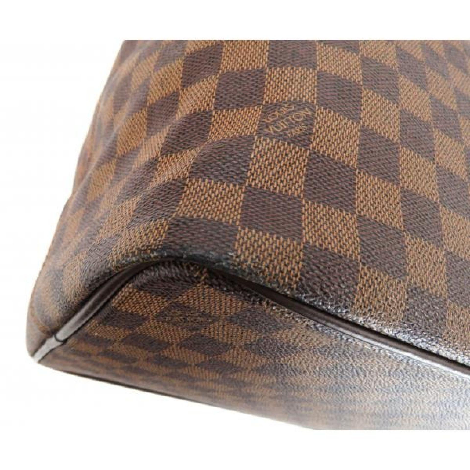 Louis Vuitton Ebene Damier Canvas Greenwich PM Duffle Bag
