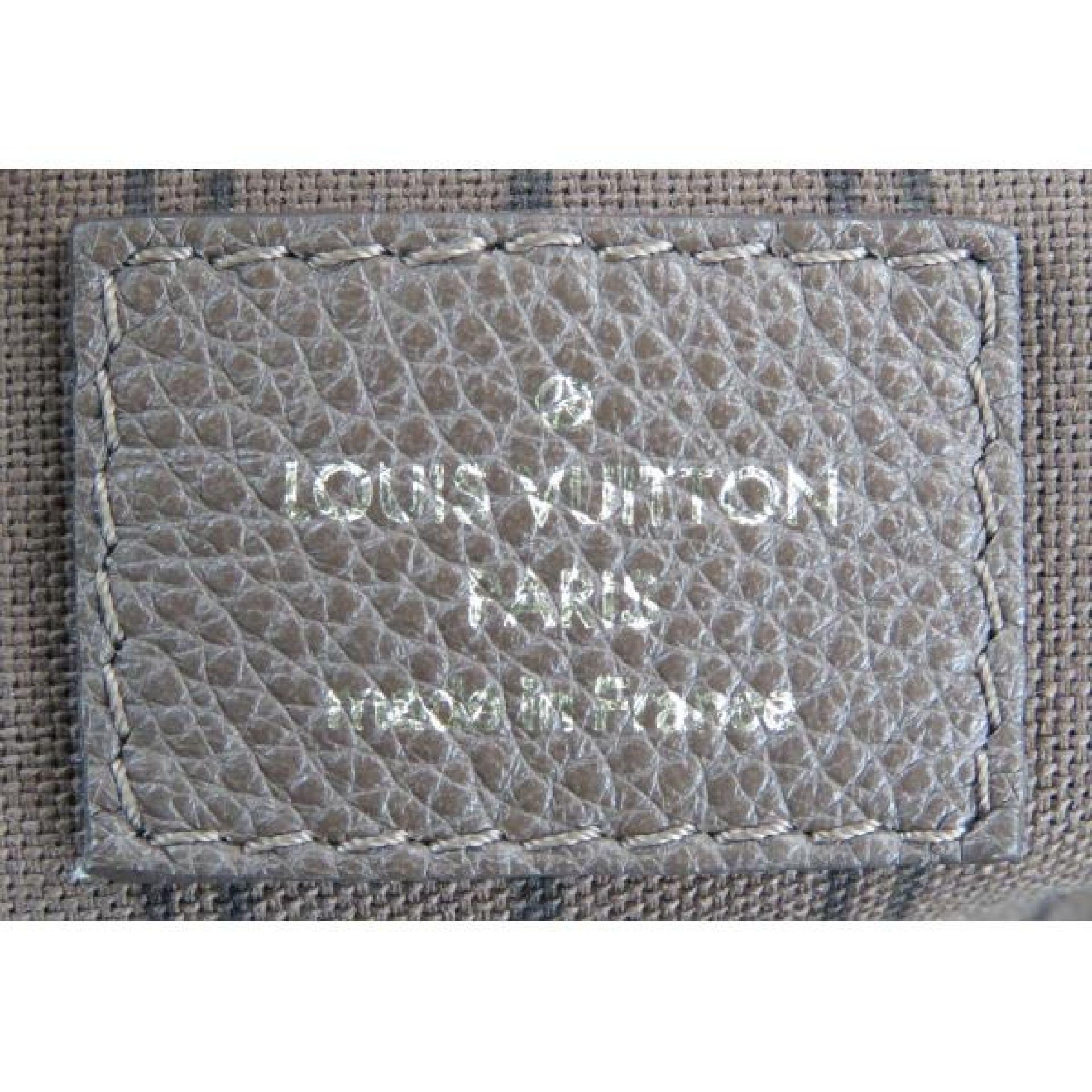 Louis Vuitton Taupe Ombre Monogram Empreinte Leather Lumineuse PM Bag