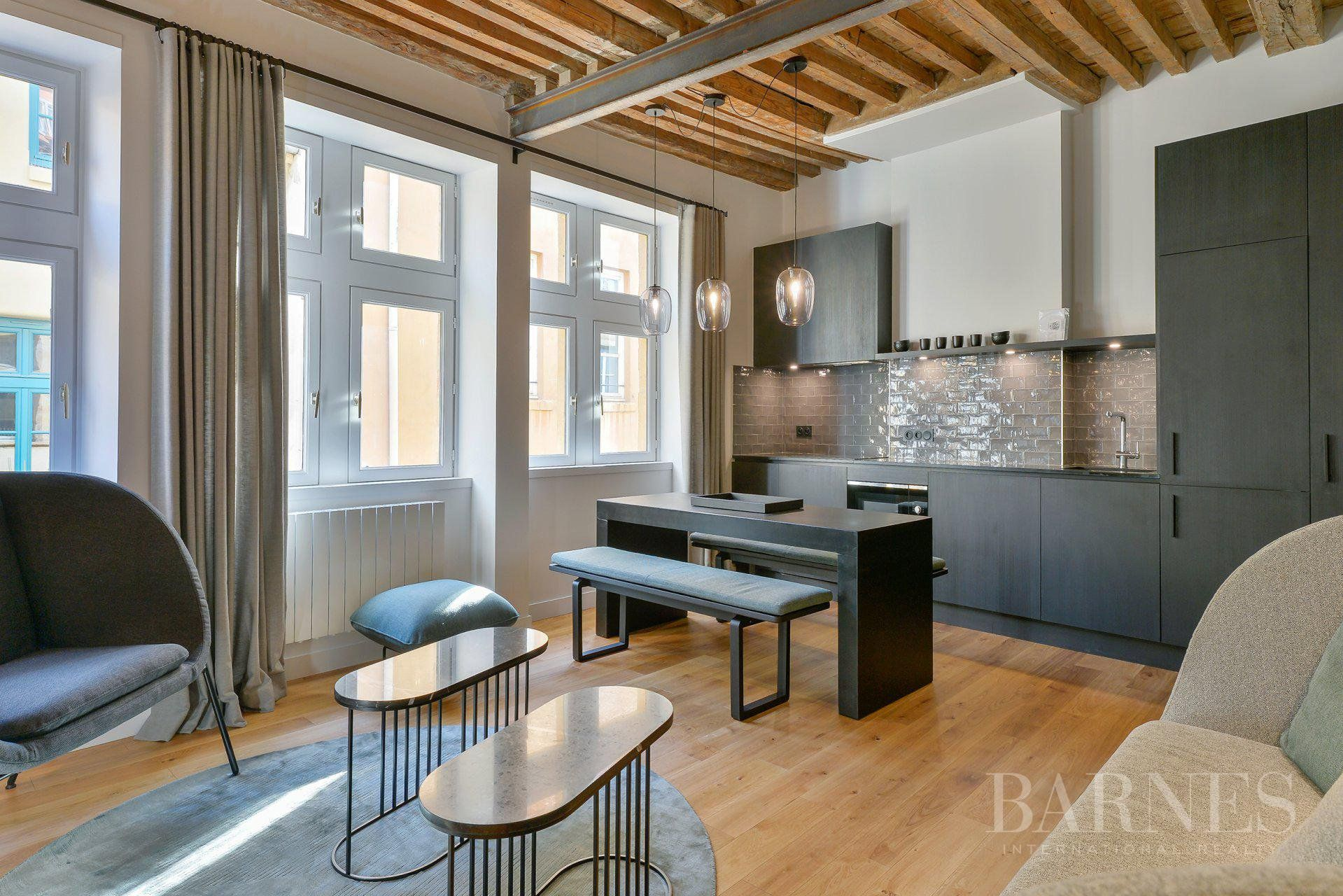 Lyon 5 - Saint-Georges - Exceptional furnished apartment of 55 sqm - 2 bedrooms