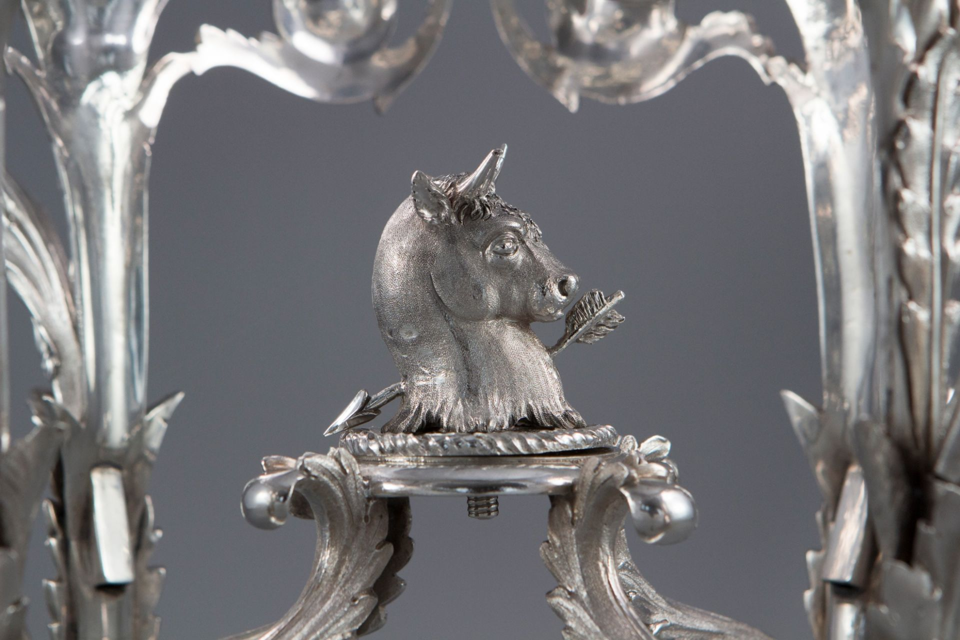 A George III Silver Epergne or Centrepiece, London 1808 by William Pitts