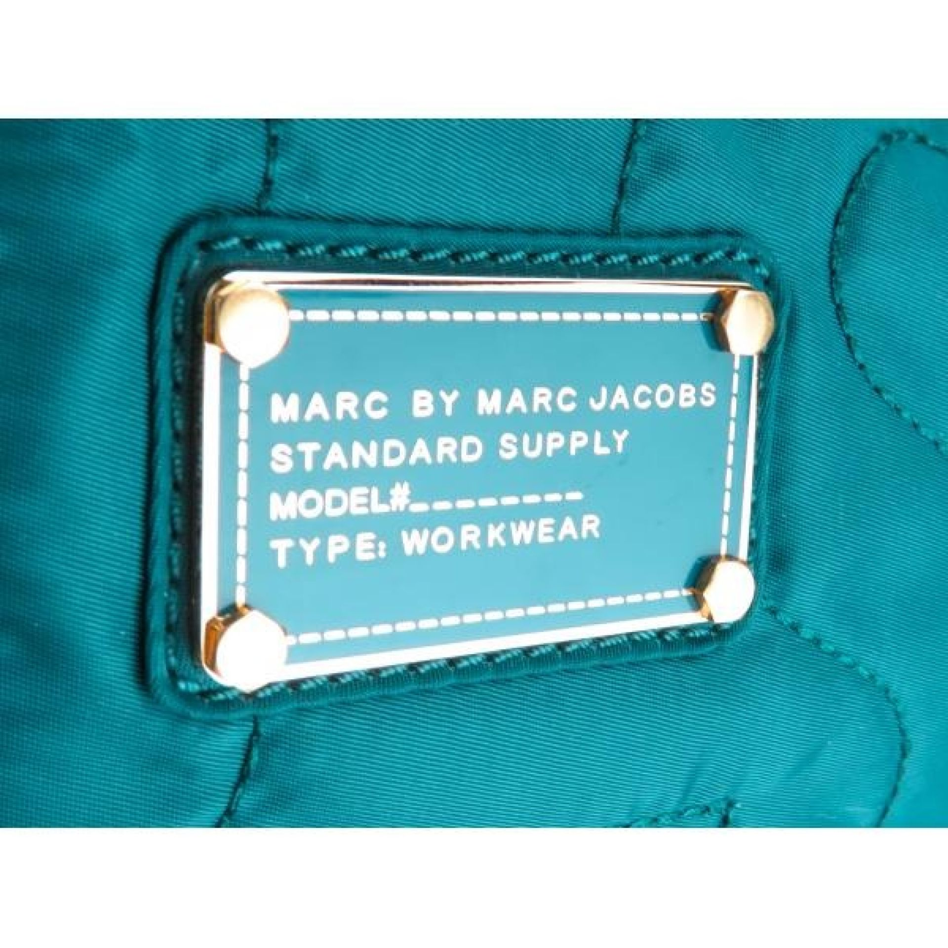 Marc by Marc Jacobs Teal Nylon Large Pretty Hobo Shoulder Bag