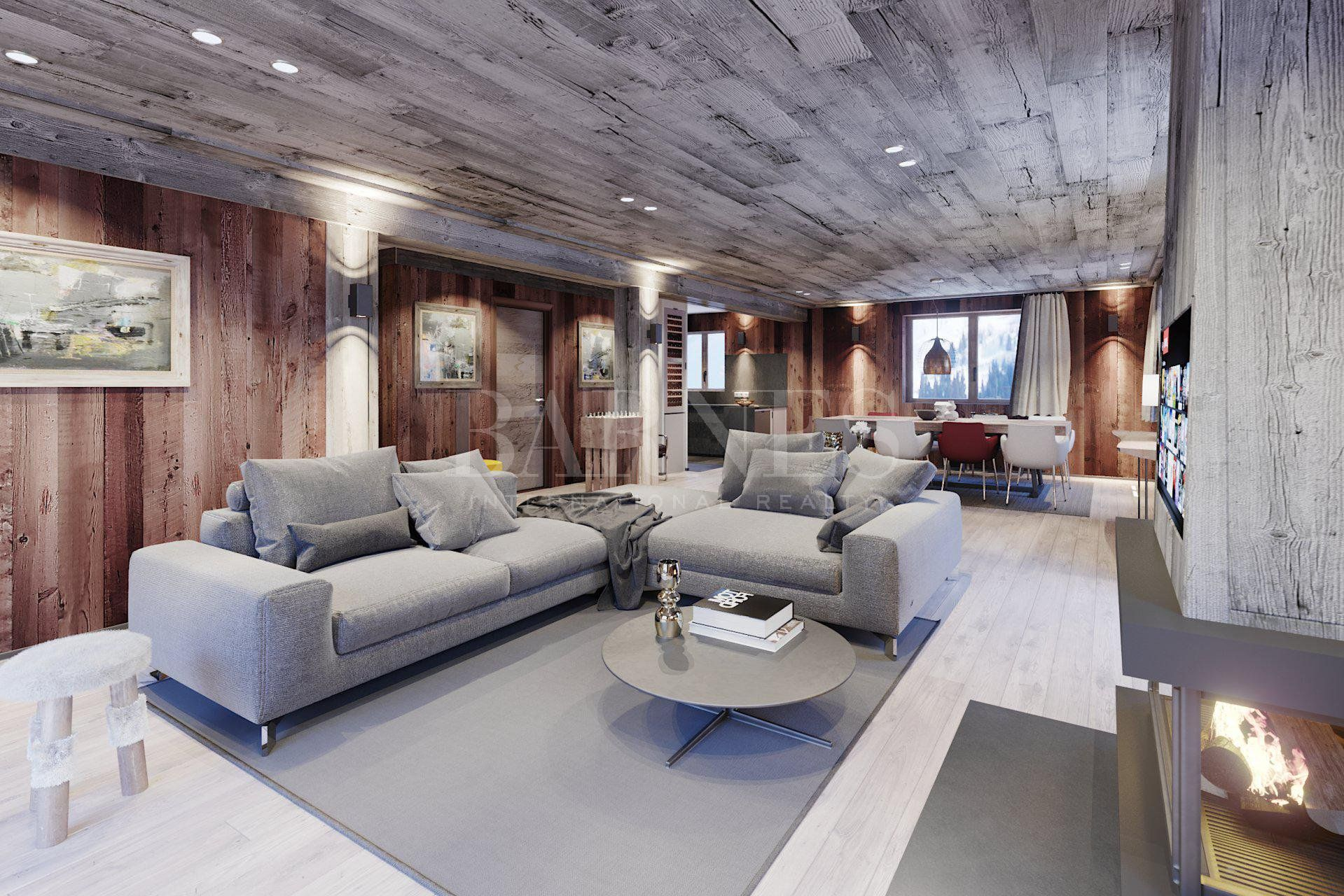 Stunning renovated chalet