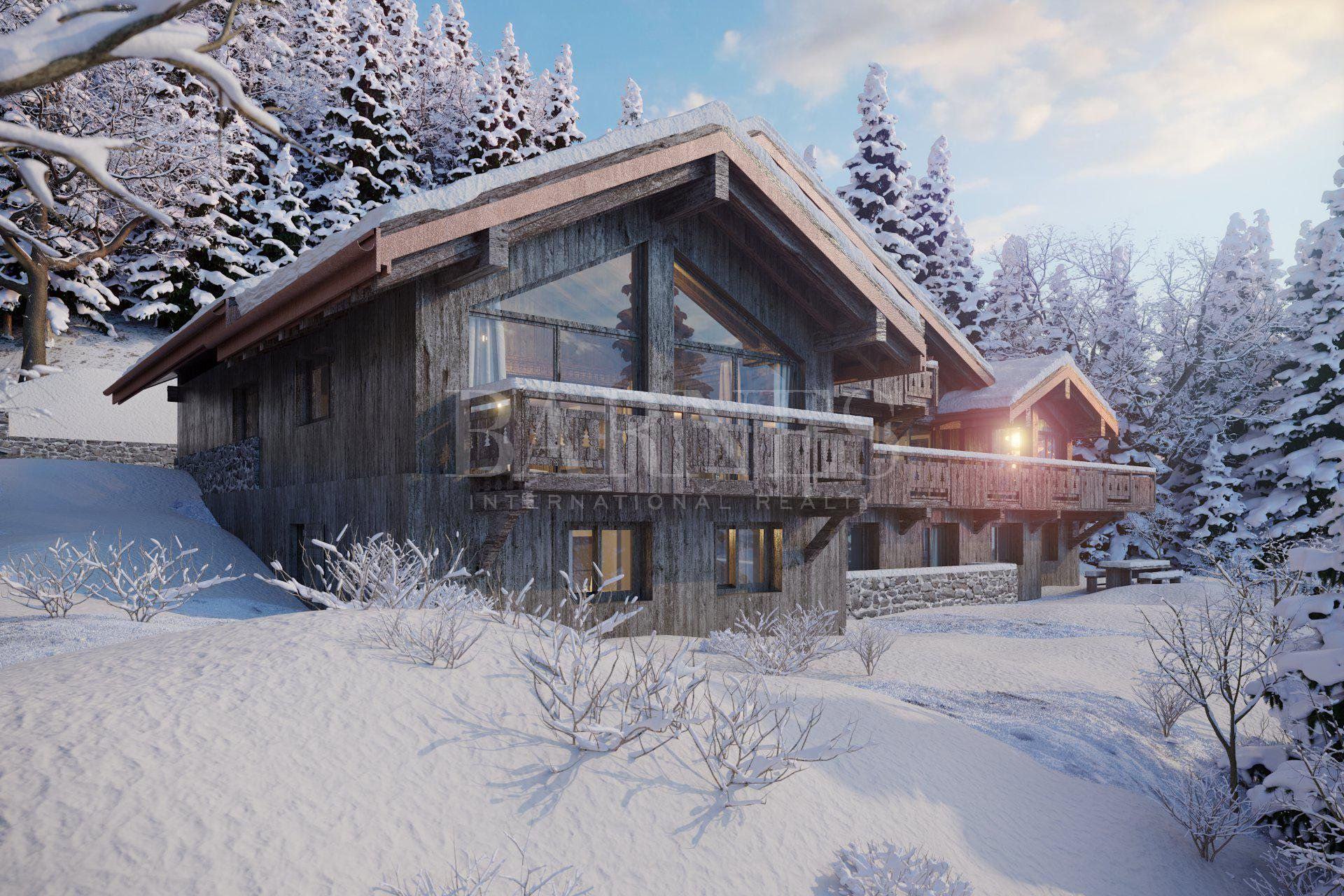 Méribel-Route des Chalets-sale of a building land clear of any claims