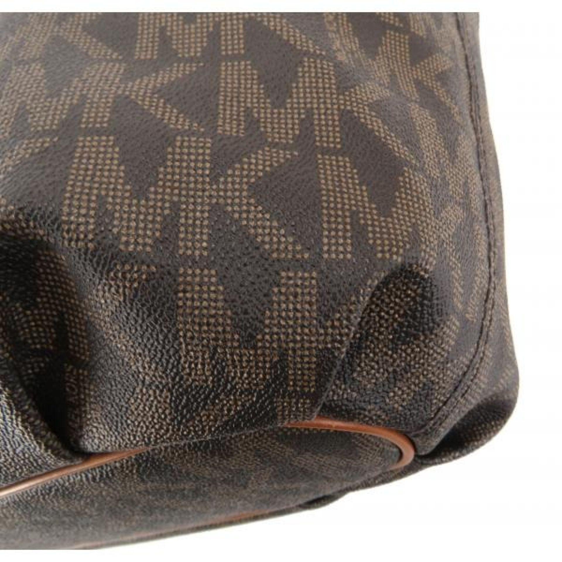 MICHAEL Michael Kors Brown Signature Canvas Ring Tote Bag
