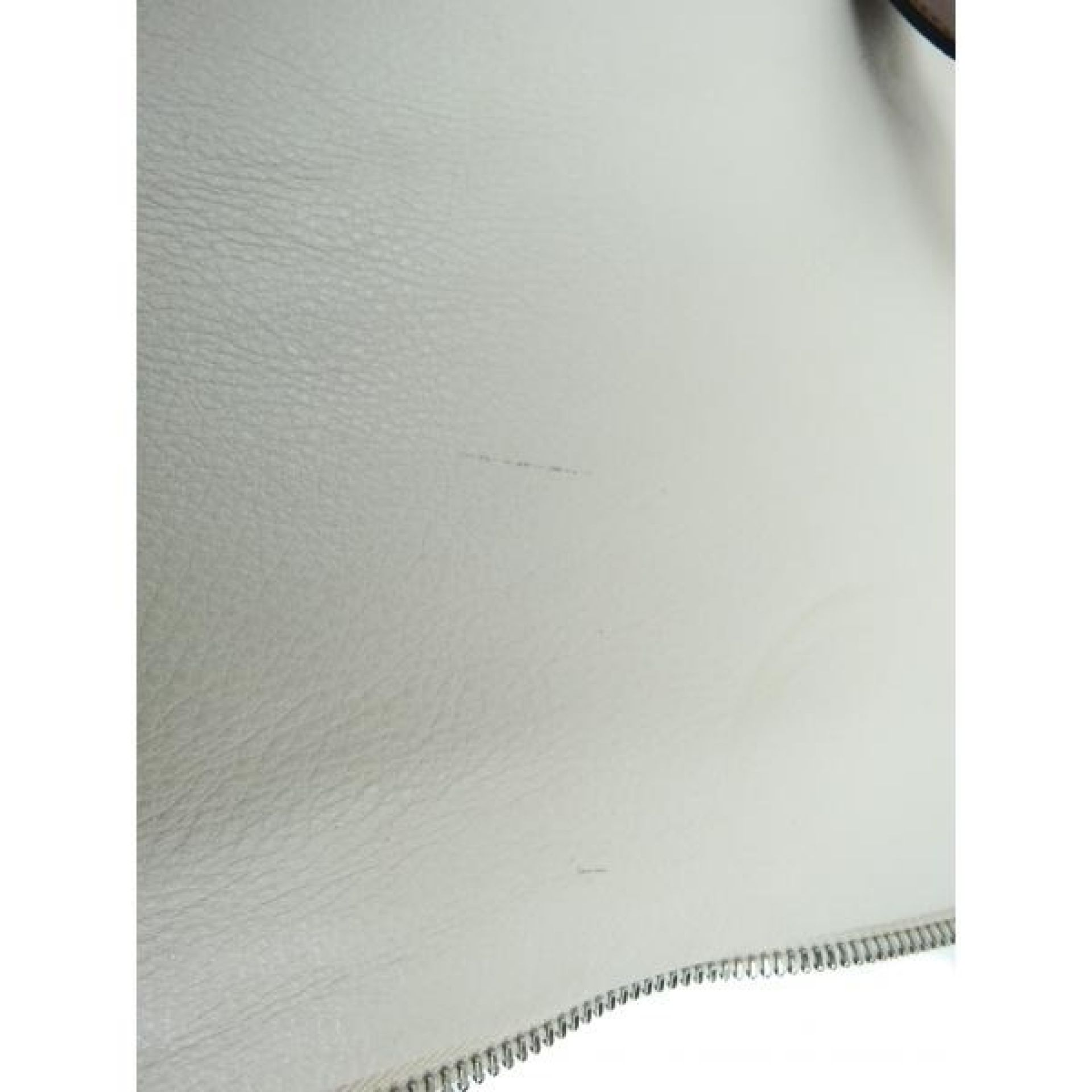 MICHAEL Michael Kors Ivory Leather Jessica North South Expandable Tote Bag
