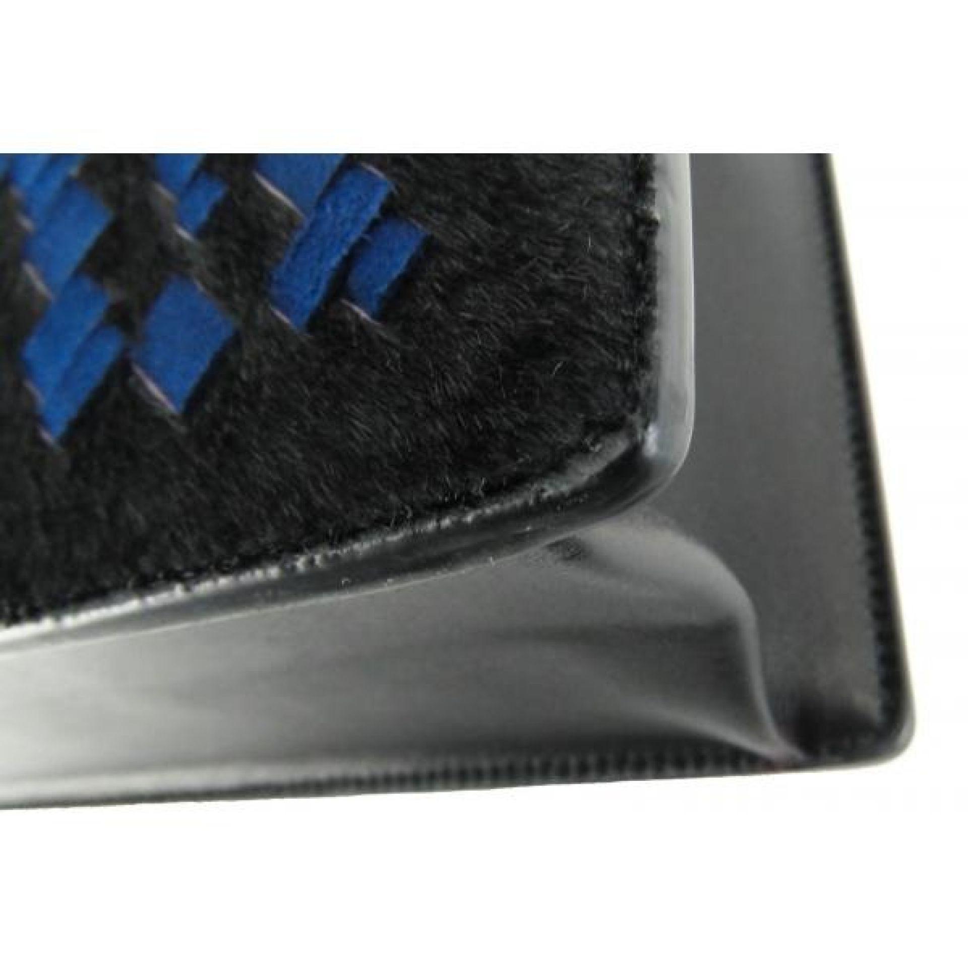 Salvatore Ferragamo Black and Blue Calf Hair Katia Top Handle Shoulder Bag