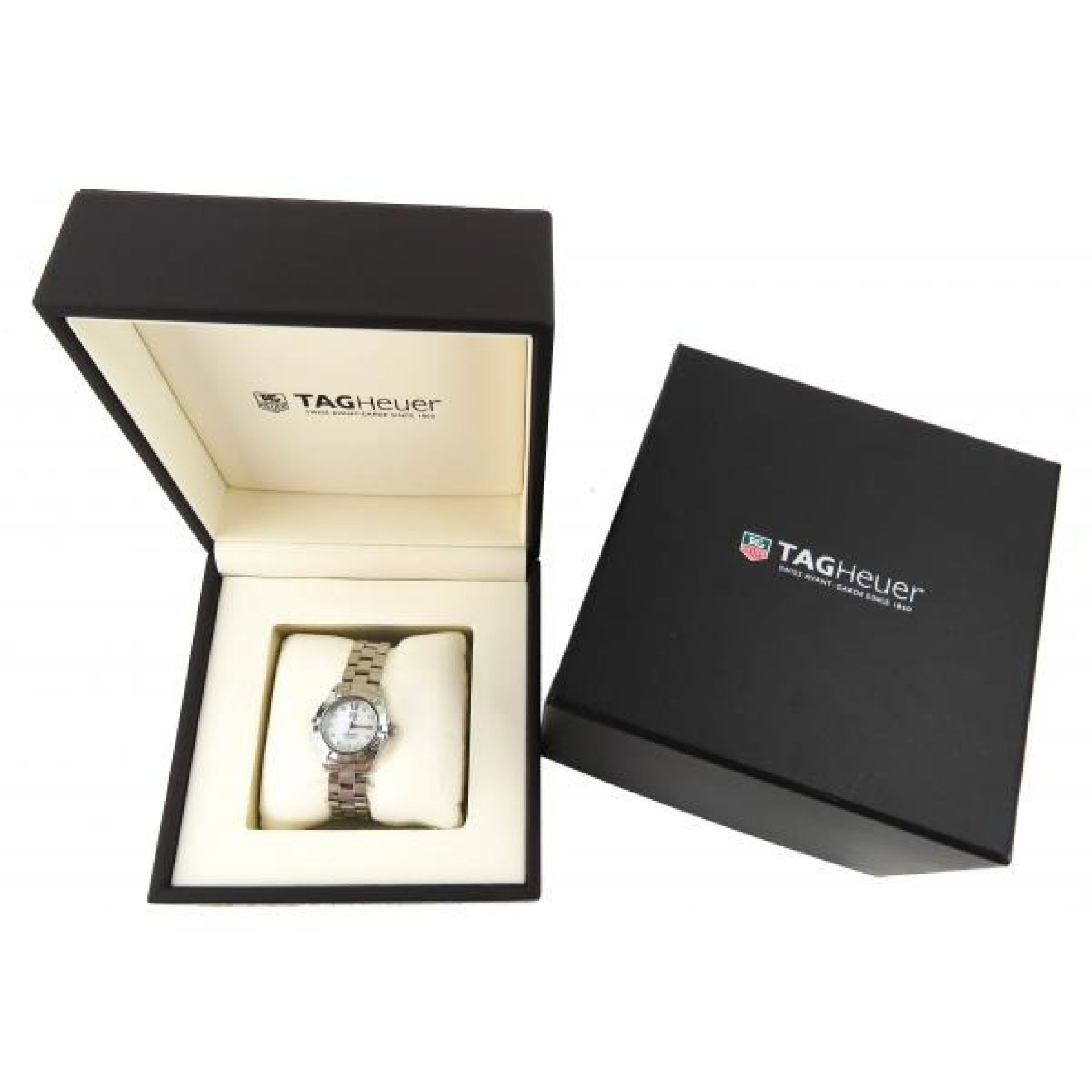 Tag Heuer Stainless Steel Diamond Aquaracer Quartz Watch