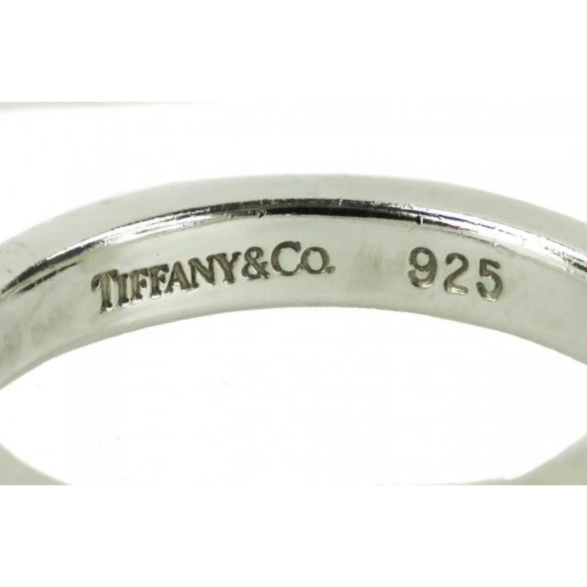 Tiffany & Co Sterling Silver Paloma Picasso Loving Heart Ring