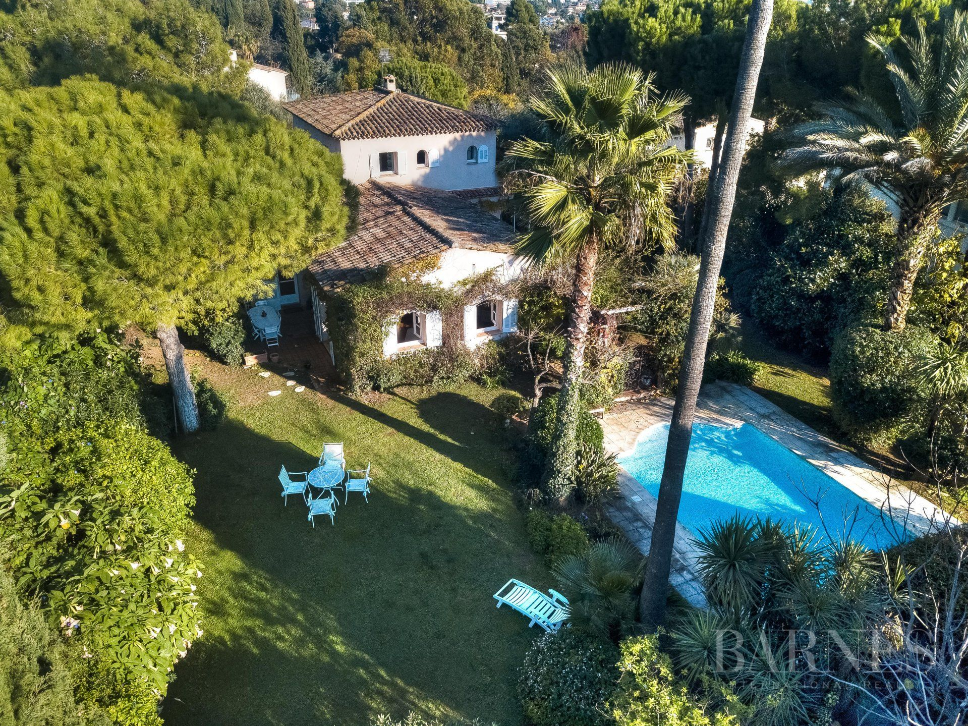 SOLE AGENT - ANTIBES  ST MAYMES - PROVENCAL PROPERTY - SEA VIEW