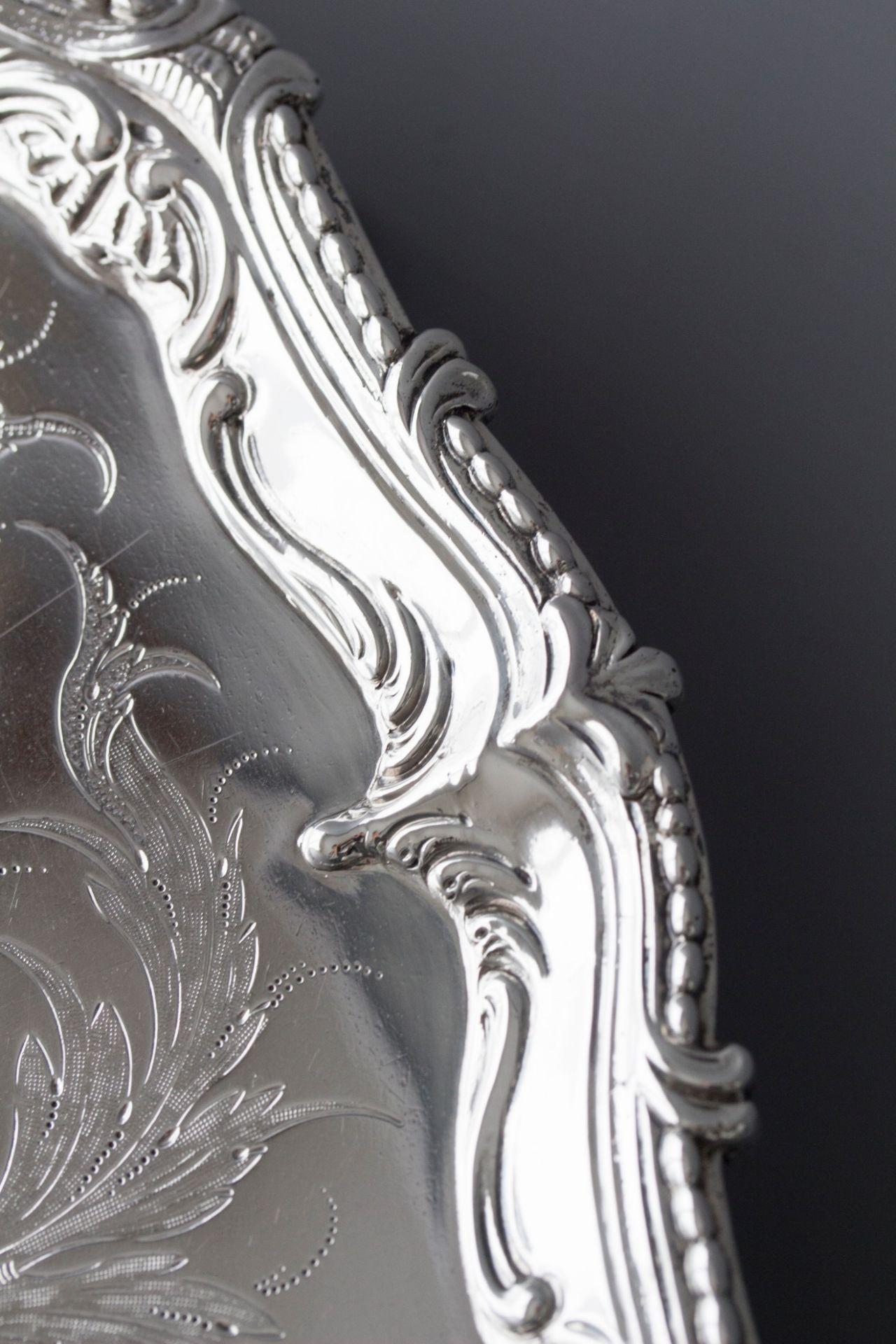 A Superb Georgian Silver Salver by Richard Rugg London 1768