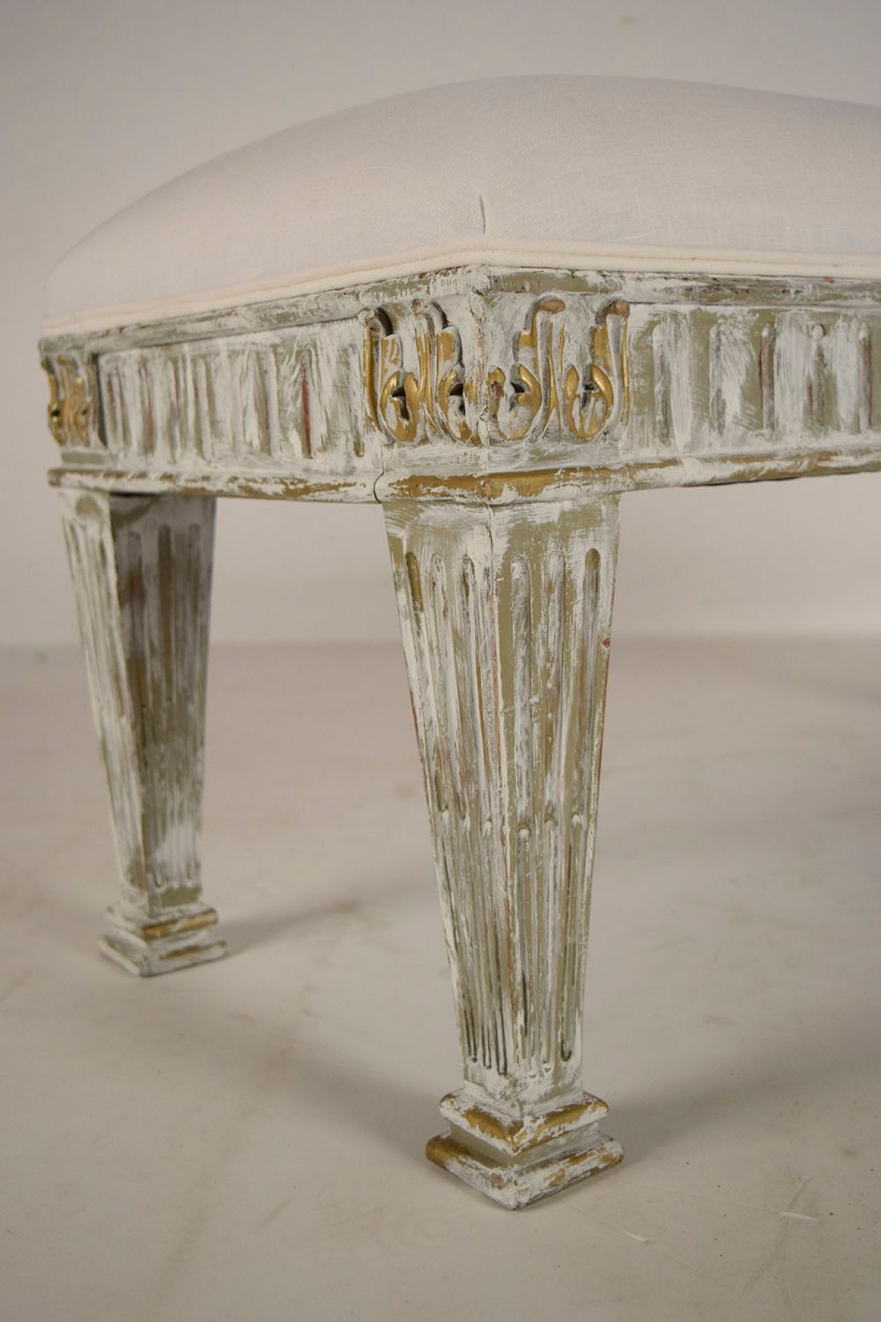 Antique Pair of French Empire-style Benches