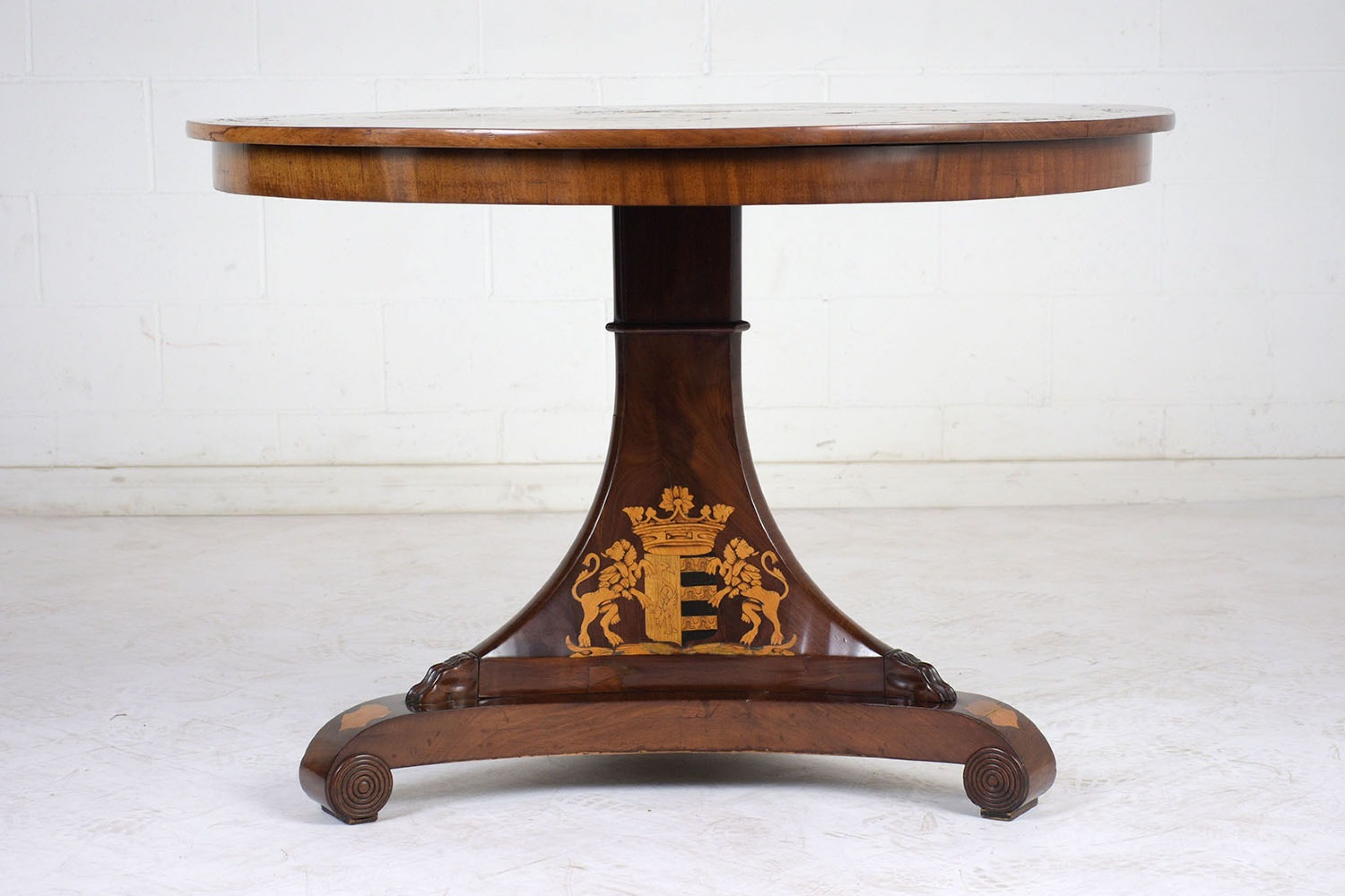 Late 19th Century English Regency Center Table