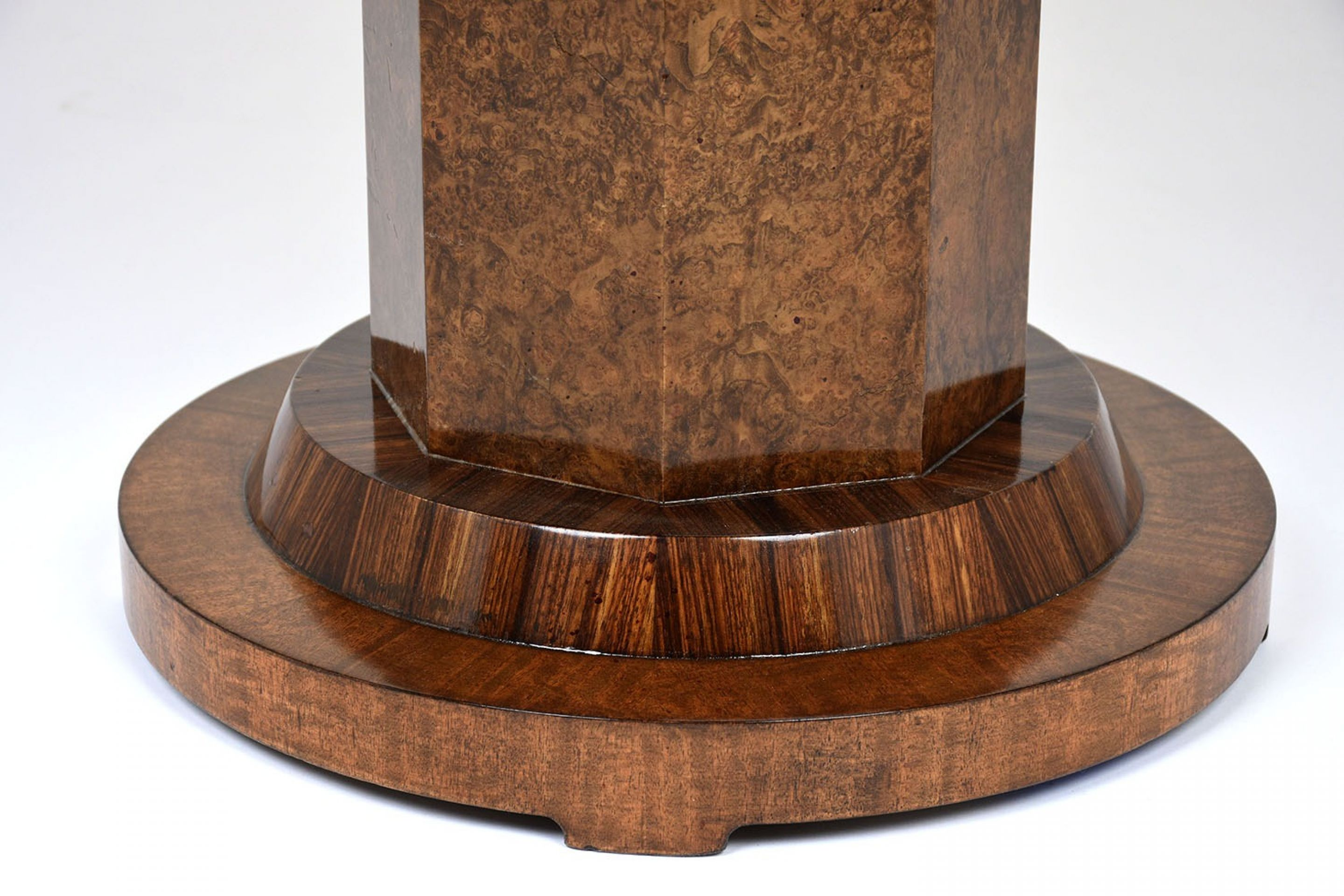 1960's French Art Deco-style Round Center Table