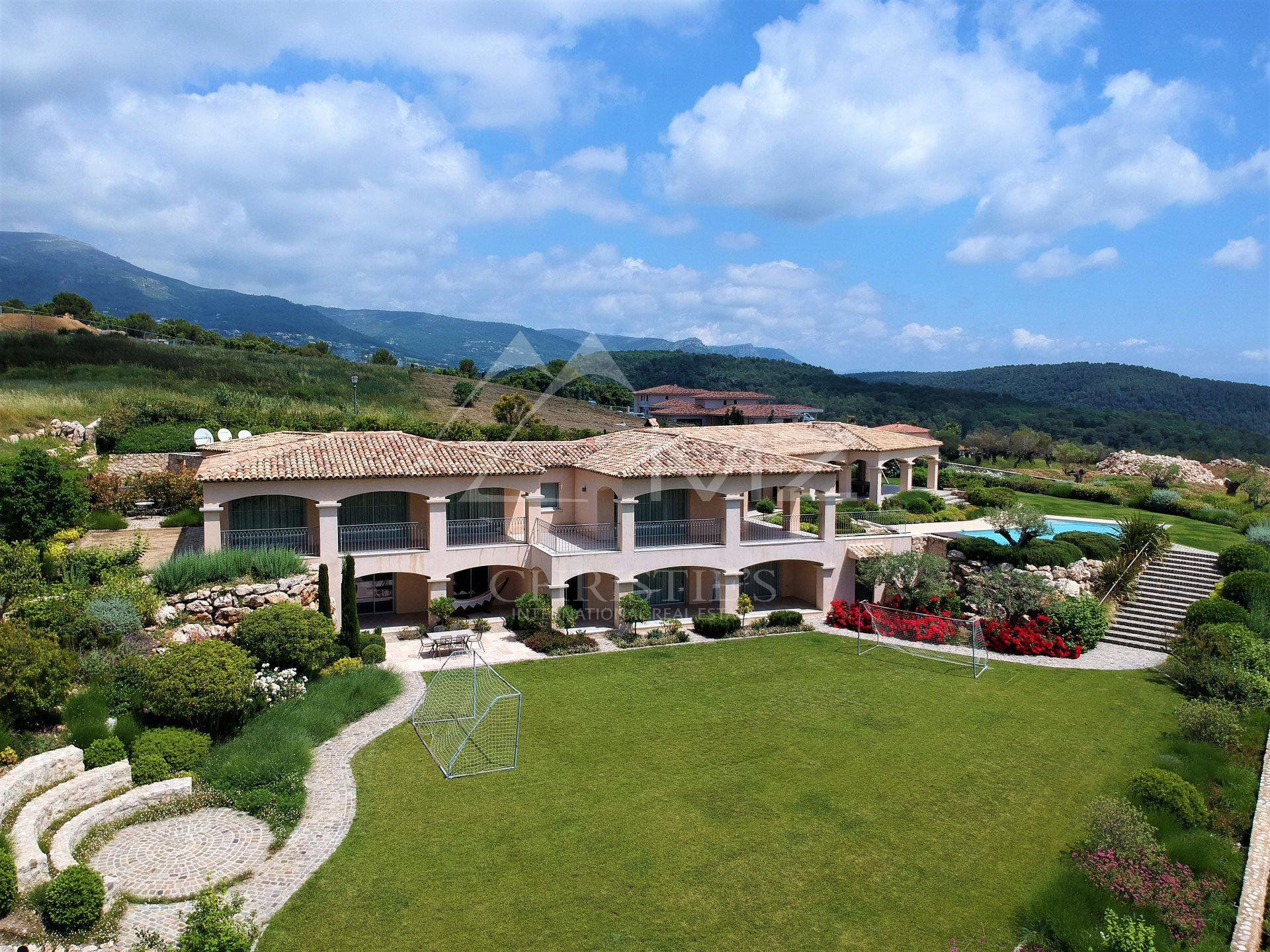 Cannes backcountry - Luxury property with fantastic view