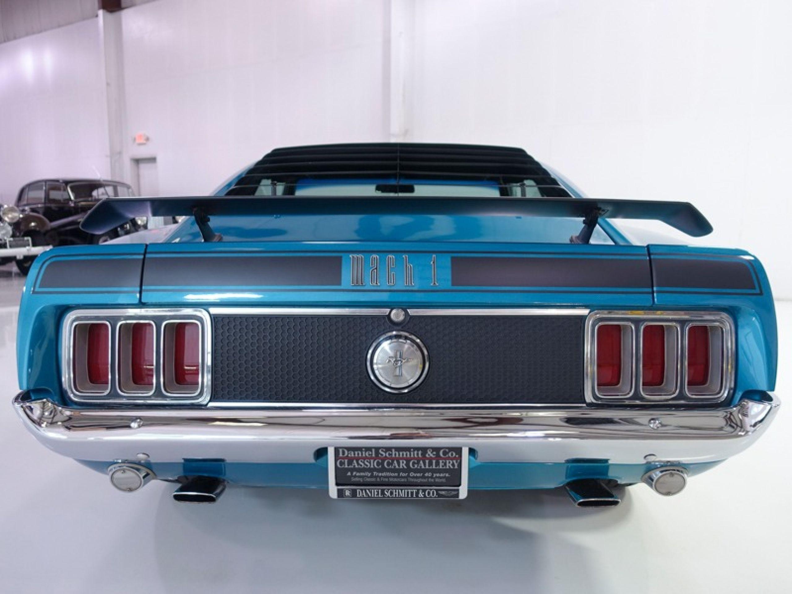 1970 Ford Mustang Mach 1 428 Super Cobra Jet Sportsroof