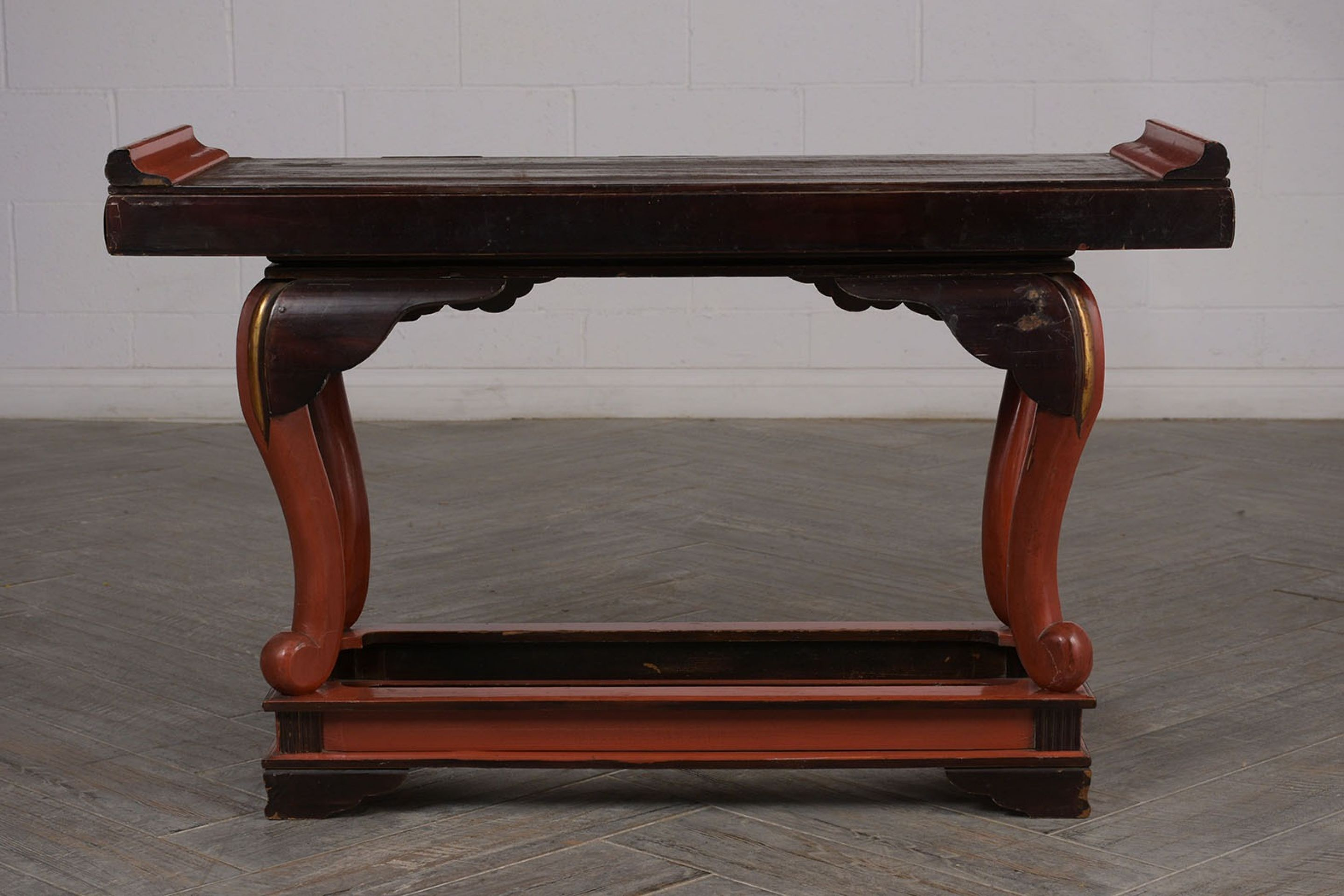 Vintage Chinese Altar Console Table