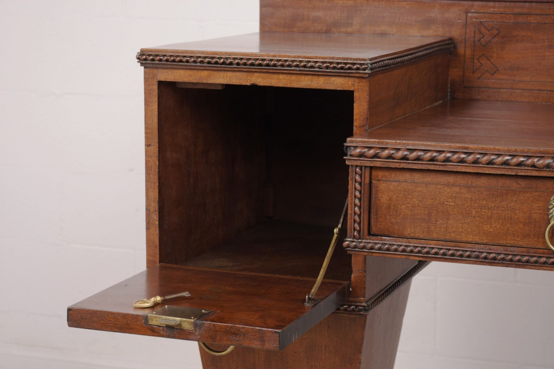 Rare late 19th Century Chippendale Server/Console