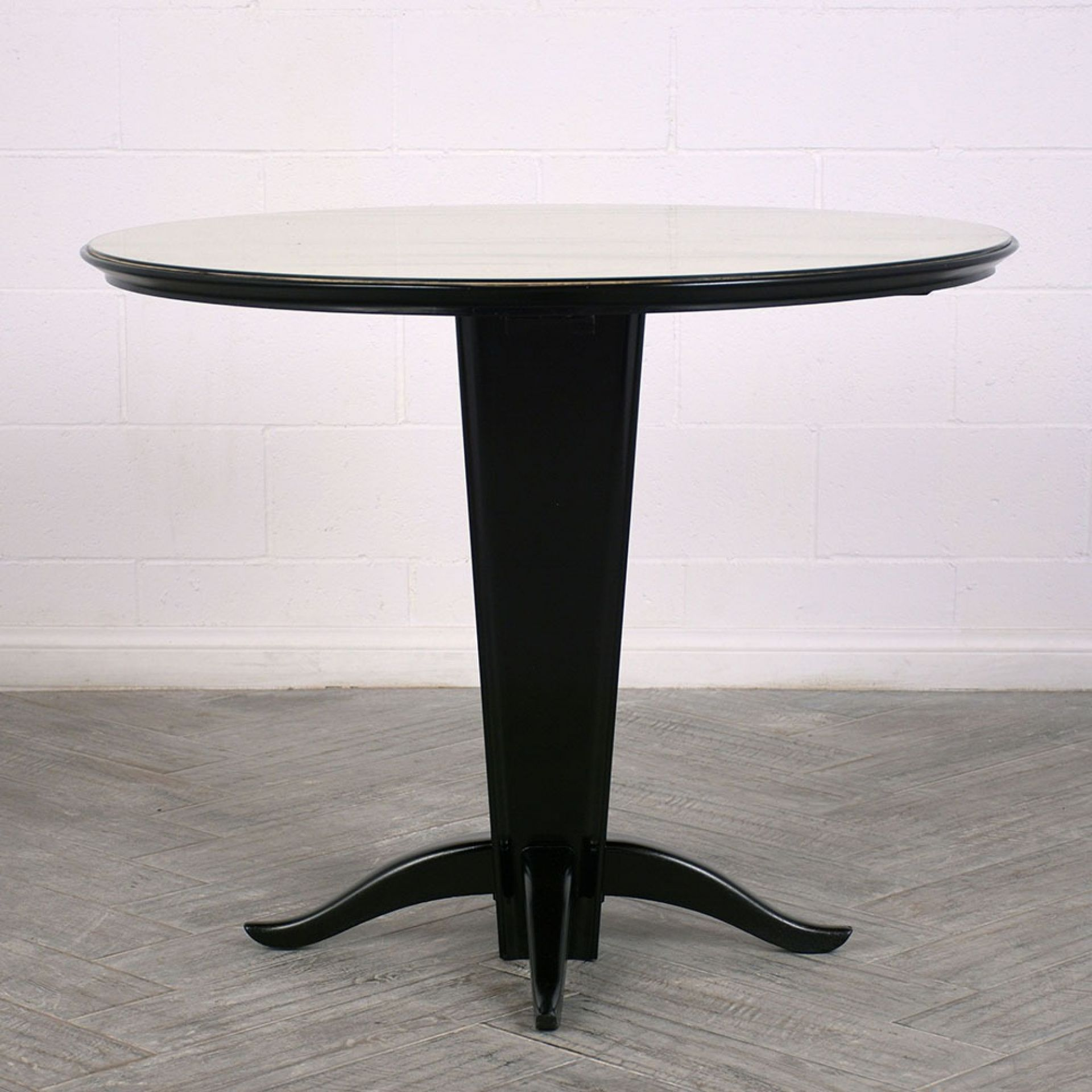 Italian Modern Round Center Table