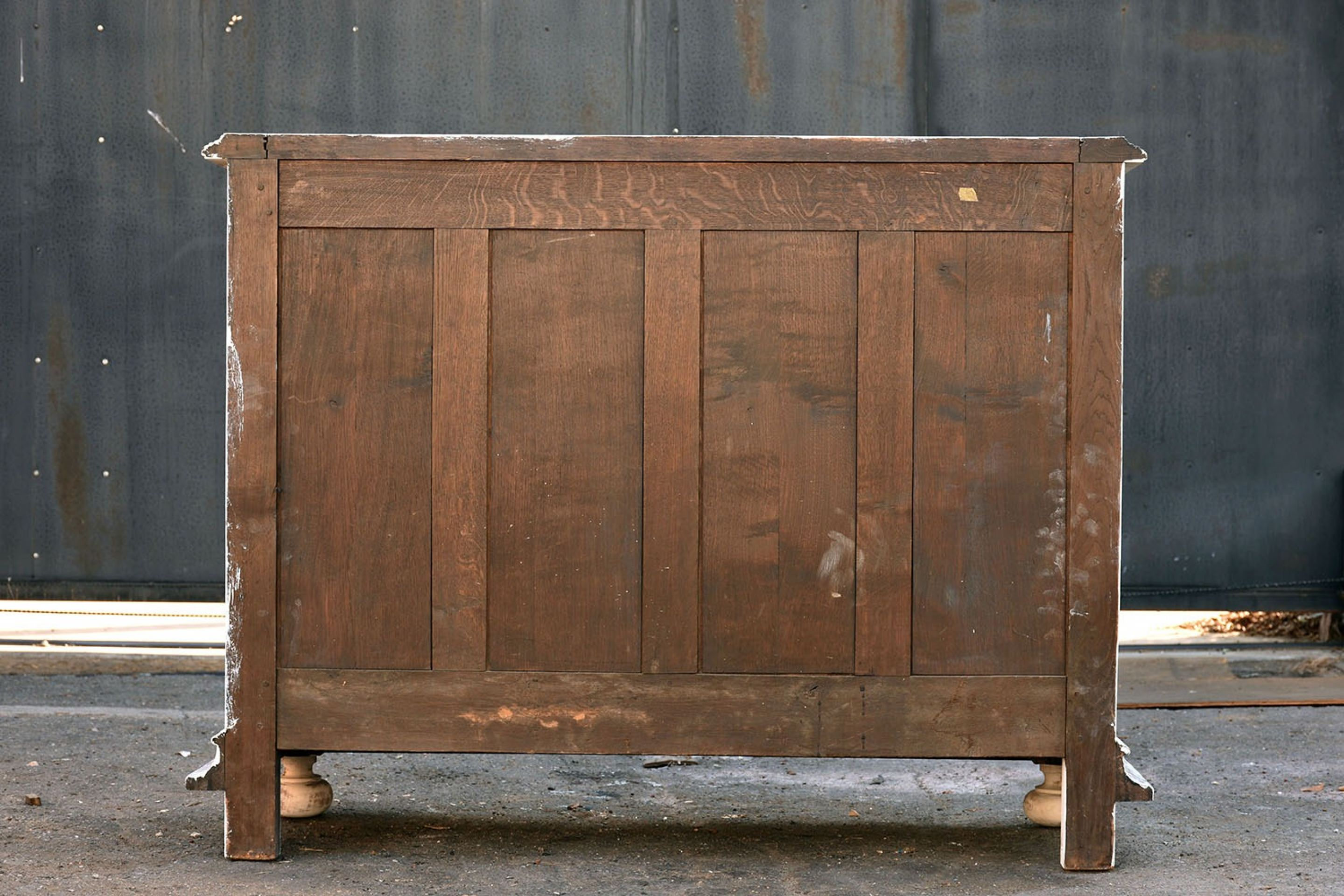 Late 19th Century French White Washed Buffet