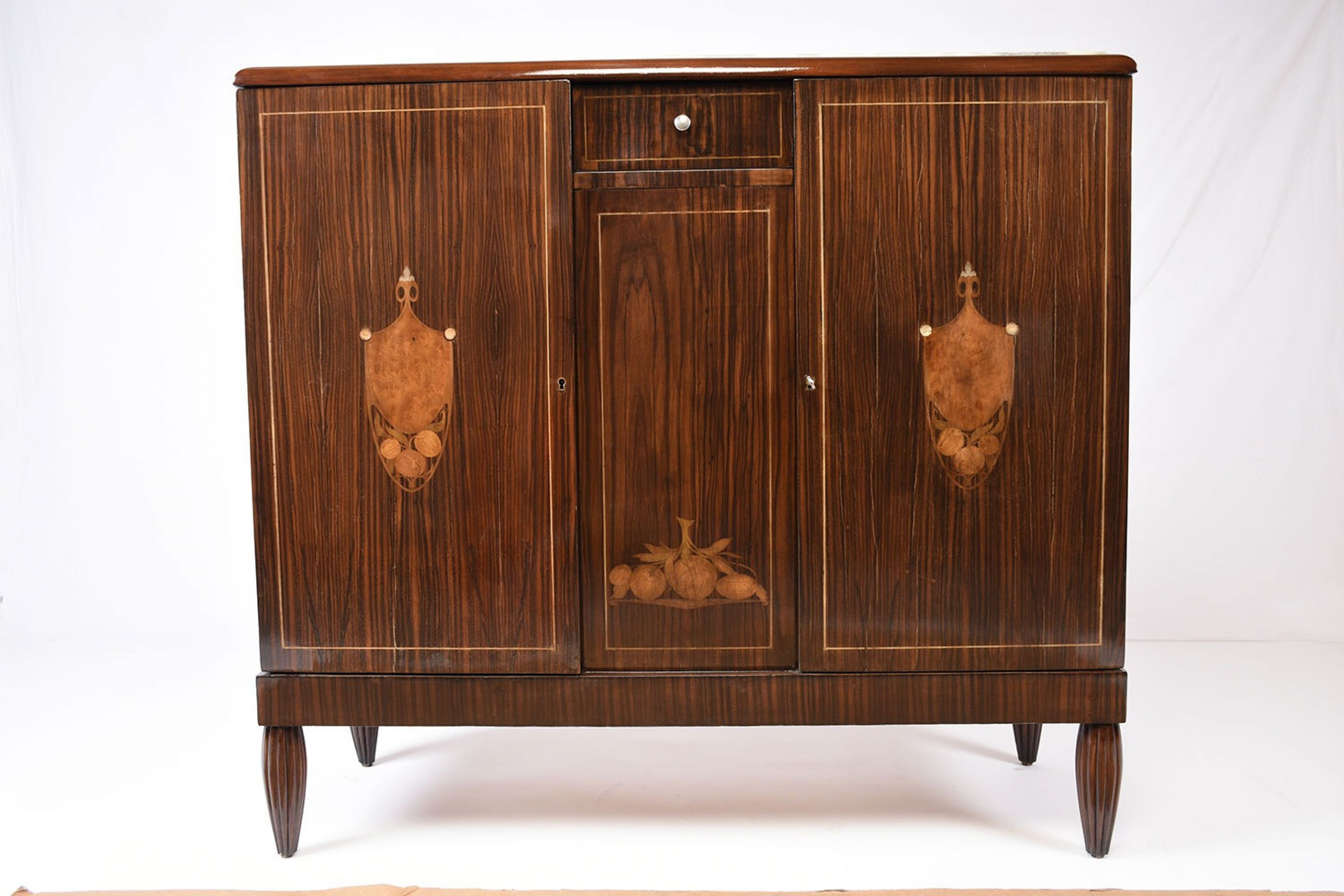 French Art Deco Macassar Buffet or Server