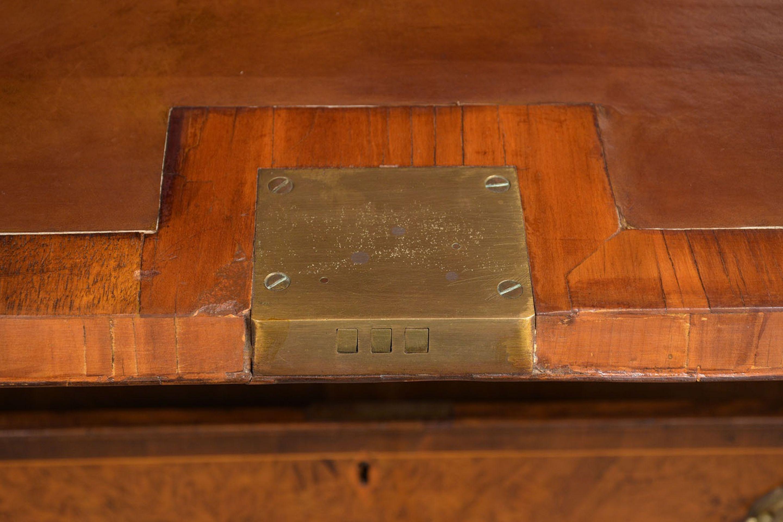 Circa 1830's English Restored George III Secretaire